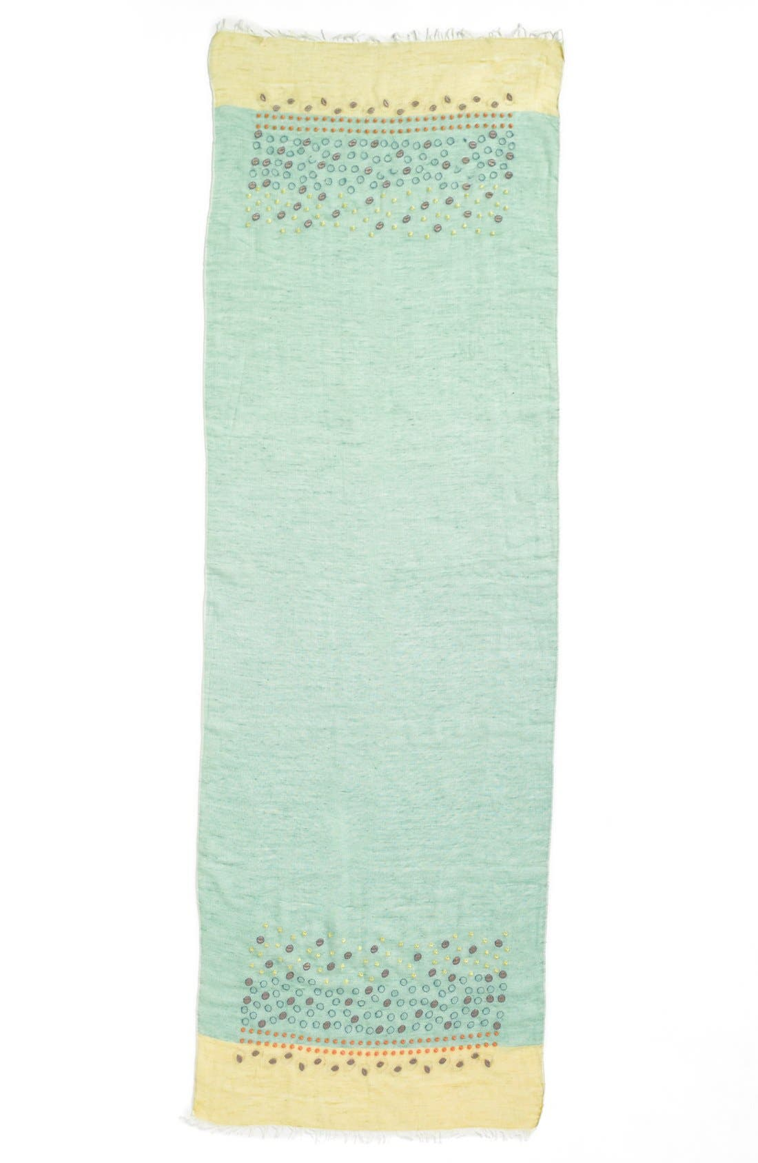 Alternate Image 2  - Tarnish Embroidered Scarf