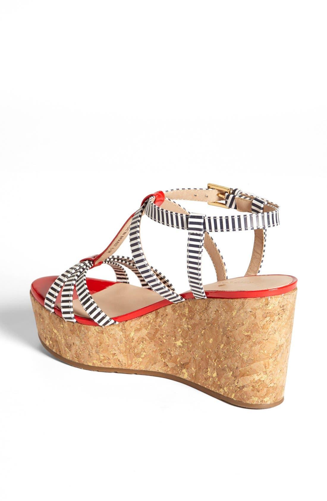 Alternate Image 2  - kate spade new york 'tropez' wedge platform sandal