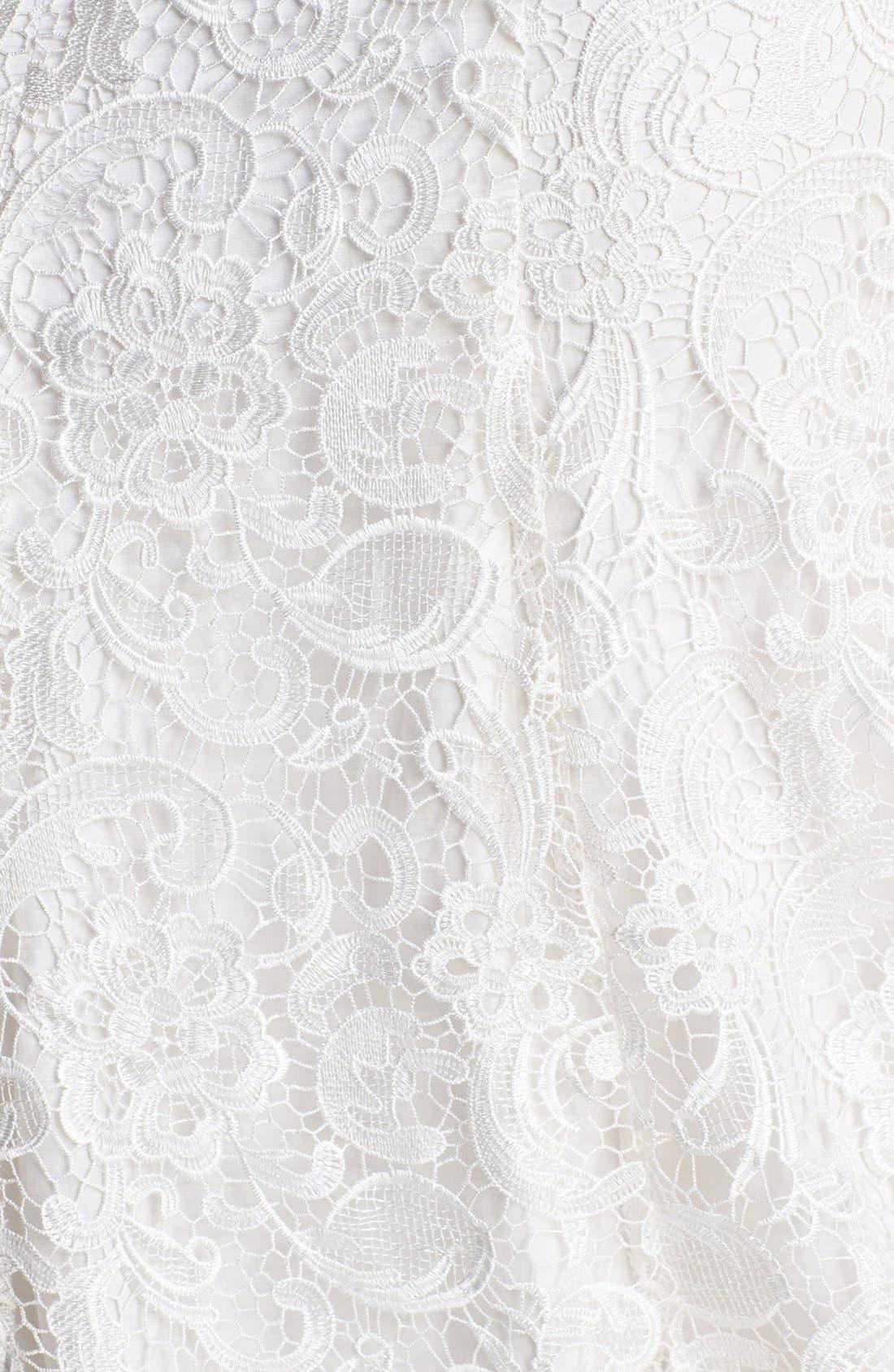 Alternate Image 3  - Olia Zavozina Ann Lace Fluted Dress