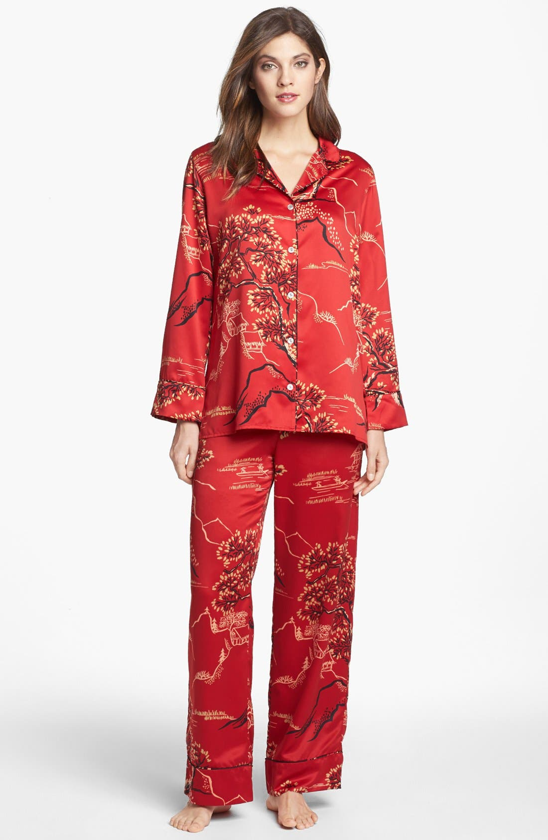 Alternate Image 1 Selected - Natori 'Pagoda' Pajamas