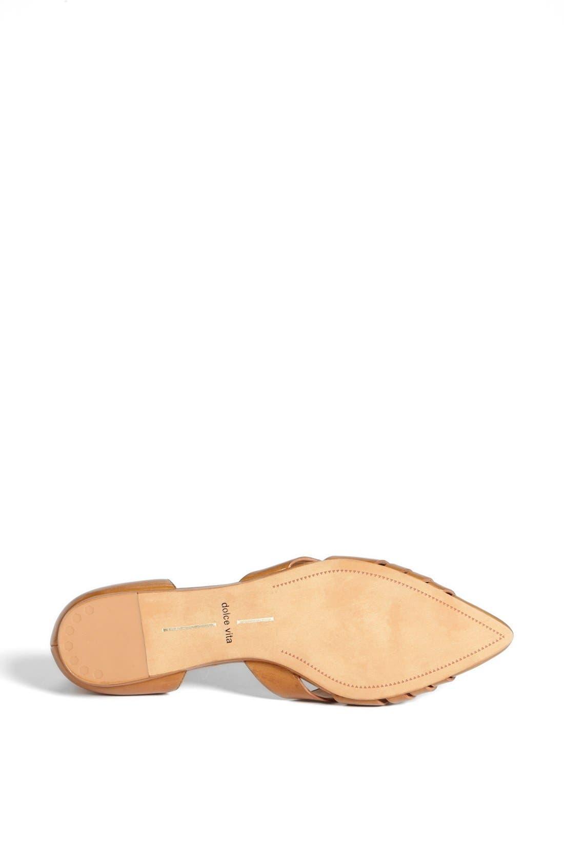 Alternate Image 4  - Dolce Vita 'Alpha' Leather Flat Sandal
