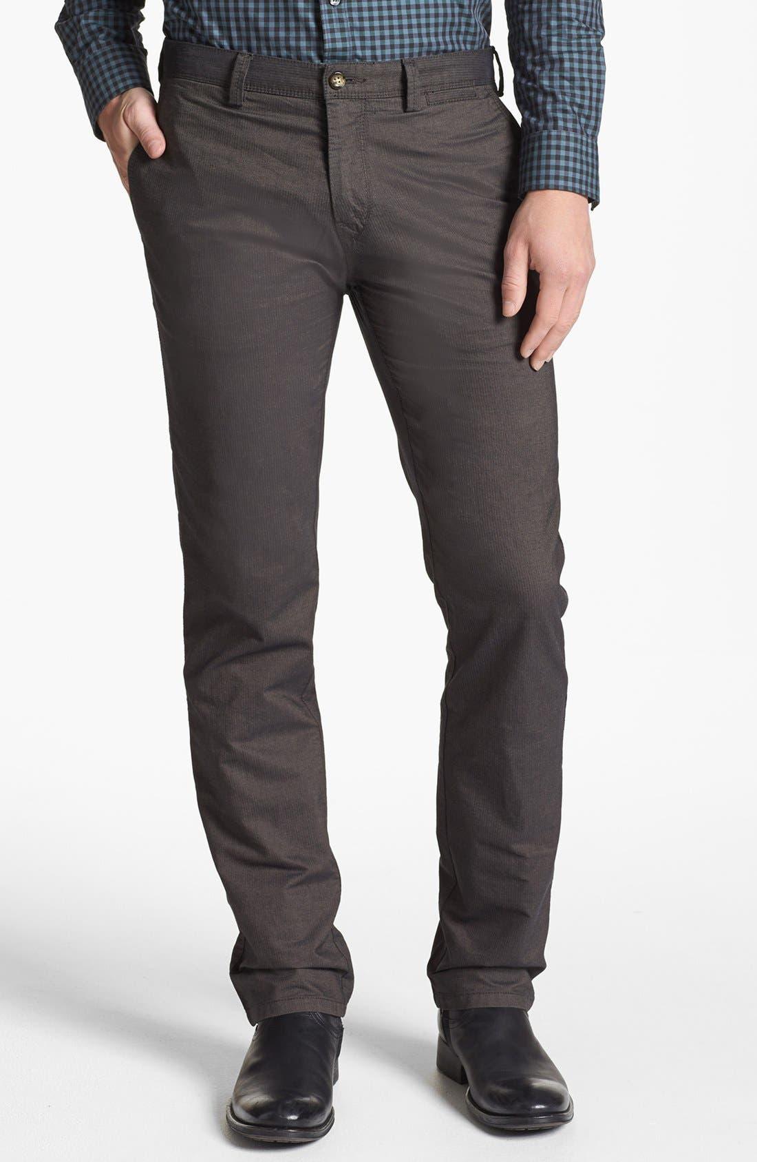Alternate Image 1 Selected - BOSS HUGO BOSS 'Crigan 1-7-W' Regular Fit Pants