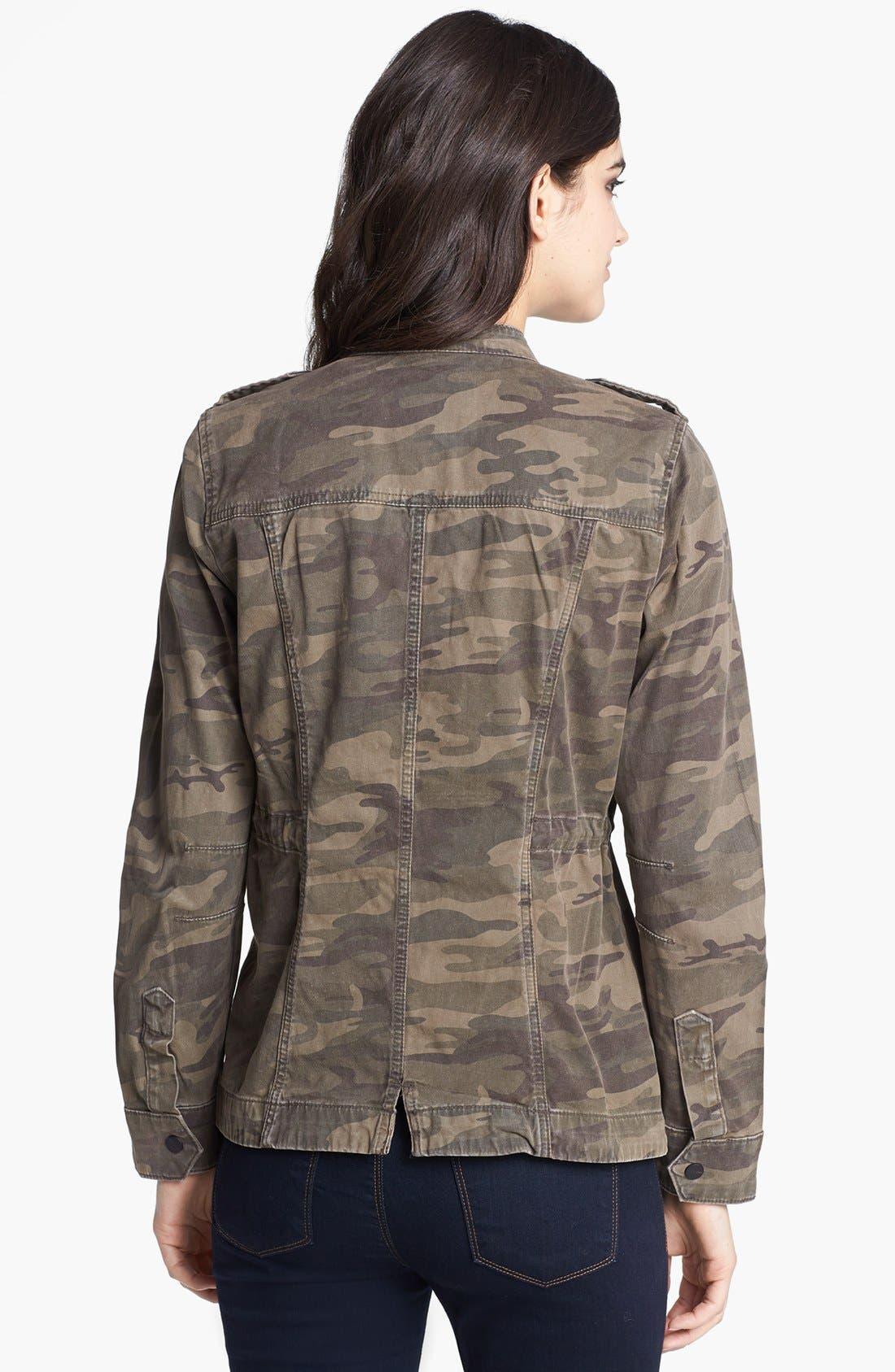 Alternate Image 2  - Sanctuary Camouflage Print Jacket