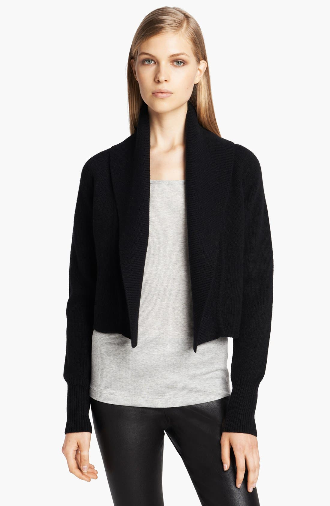 Main Image - Donna Karan Collection Midweight Ribbed Cozy