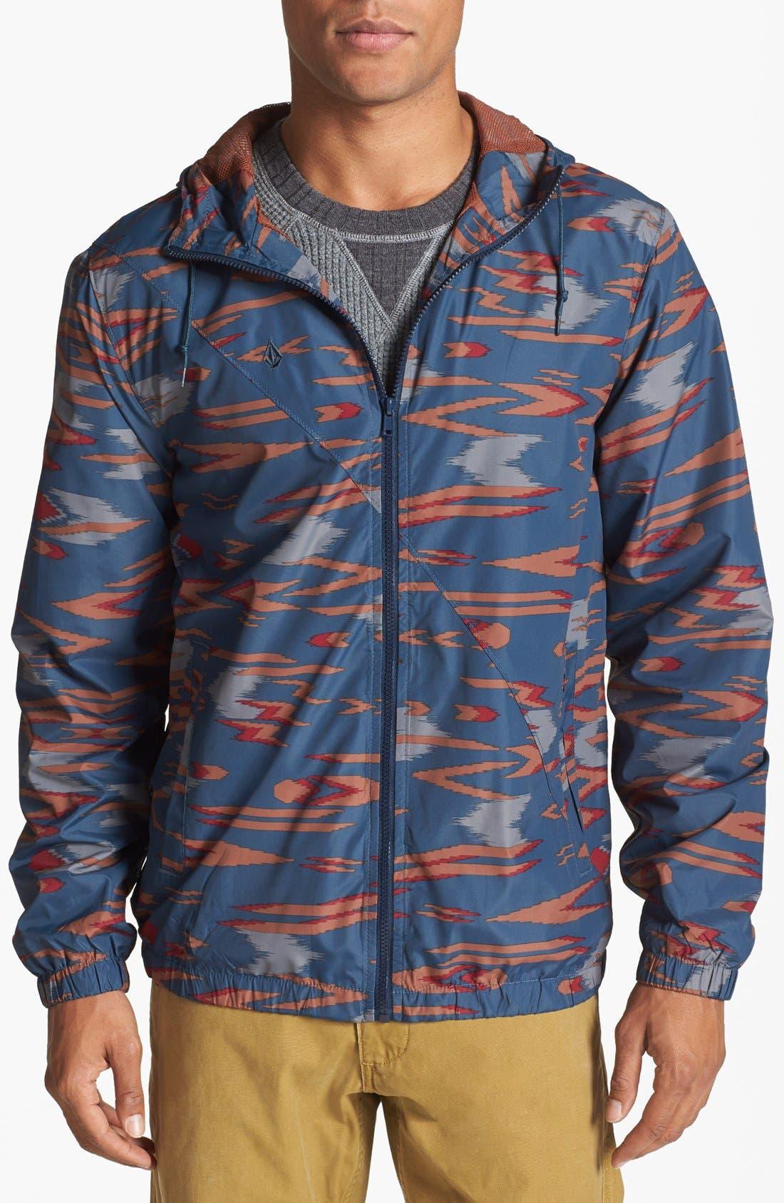 Alternate Image 1 Selected - Volcom 'Forwarder' Windbreaker Jacket