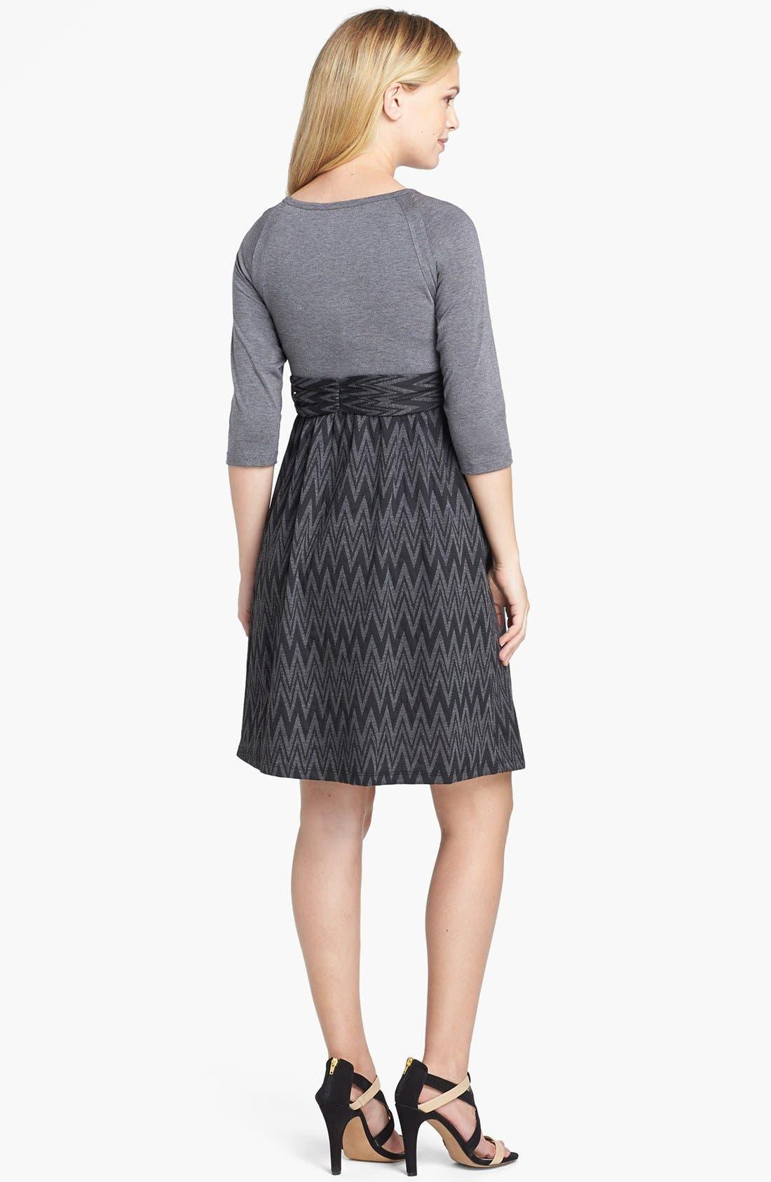 Alternate Image 2  - Maternal America Tie Front Dress