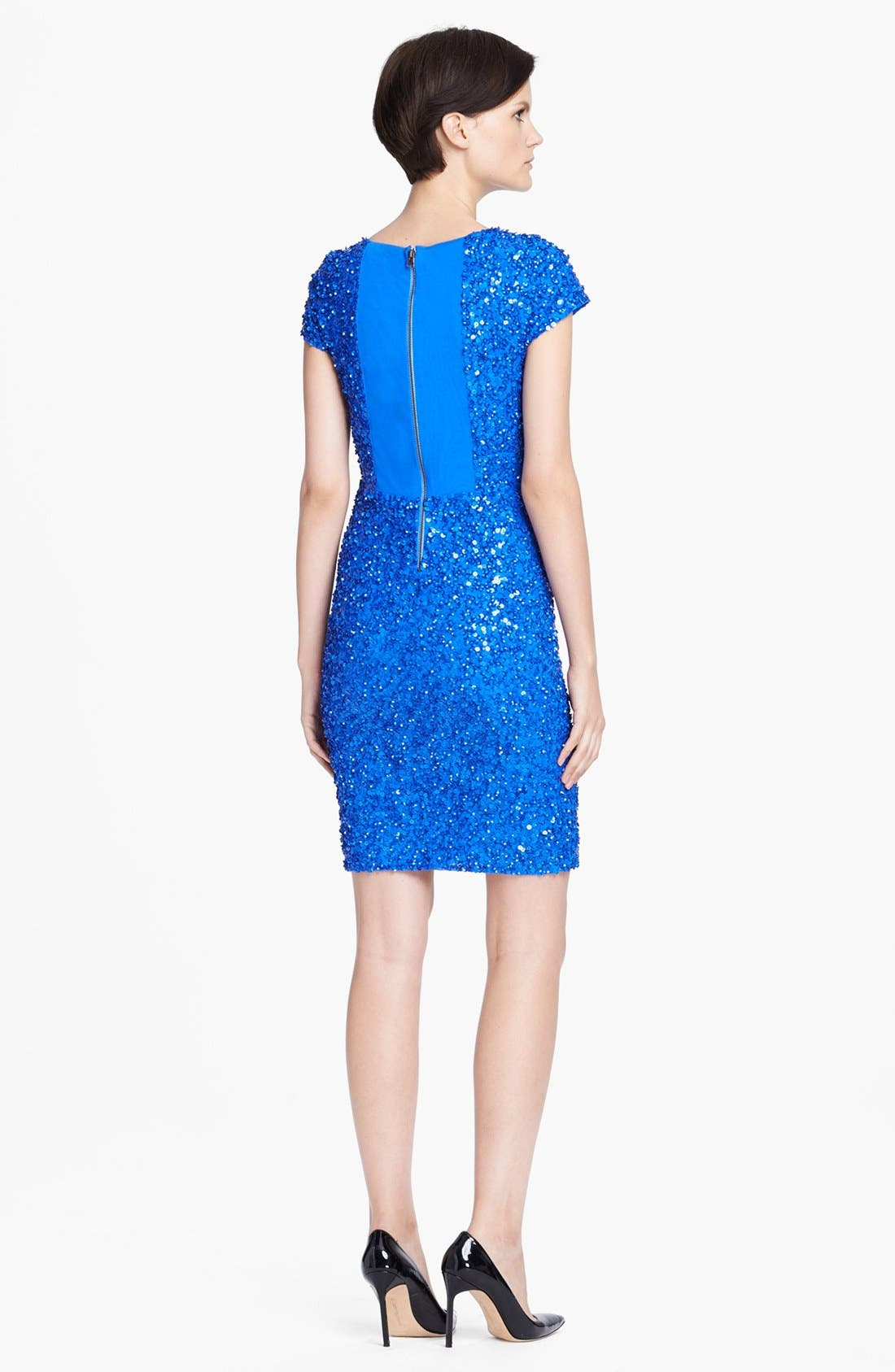 Alternate Image 2  - Alice + Olivia 'Taryn' Sequin Dress