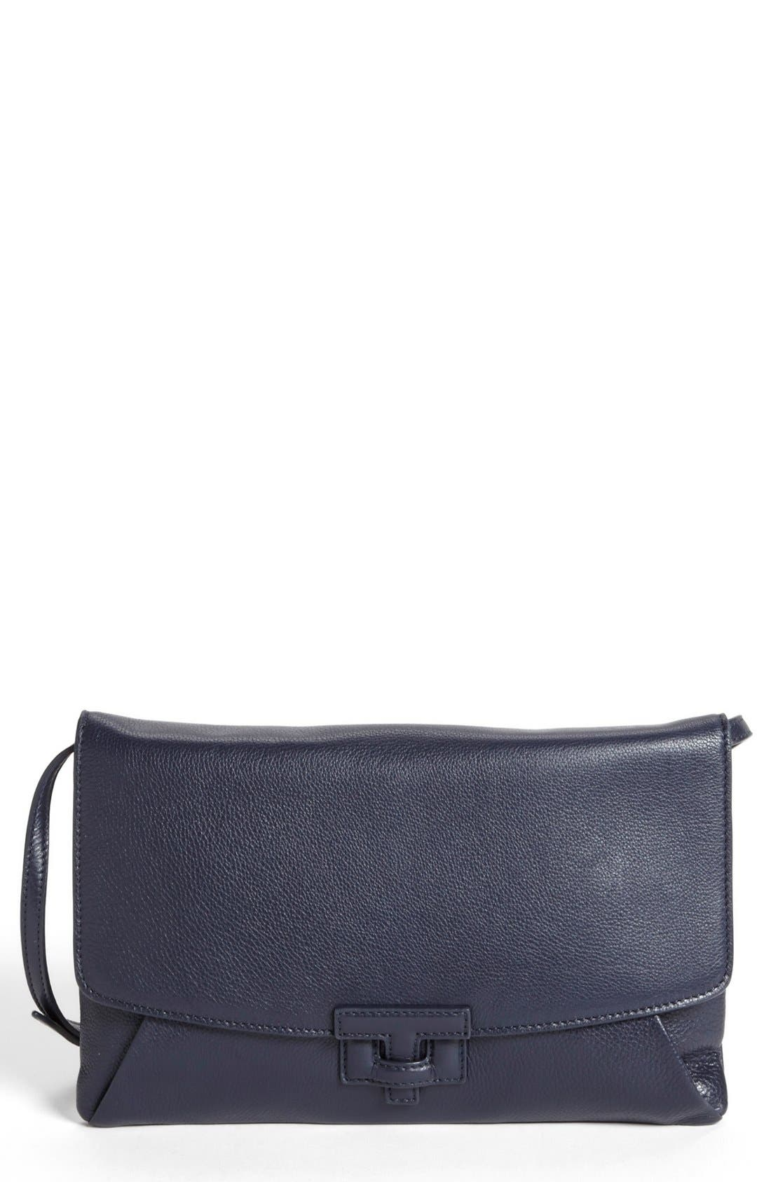Main Image - Tory Burch Leather Envelope Clutch
