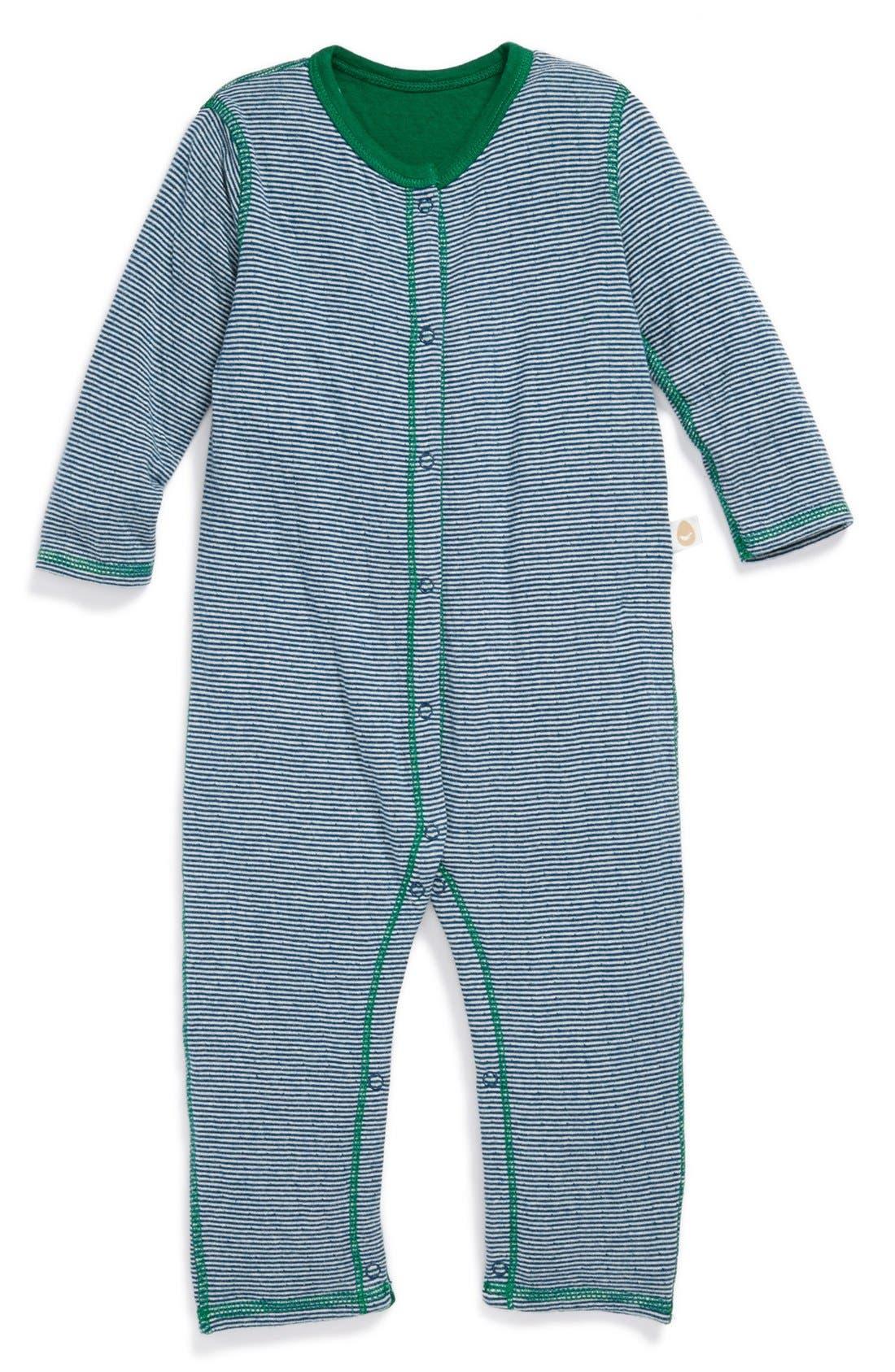 Main Image - Stem Baby Reversible Romper (Baby Boys)