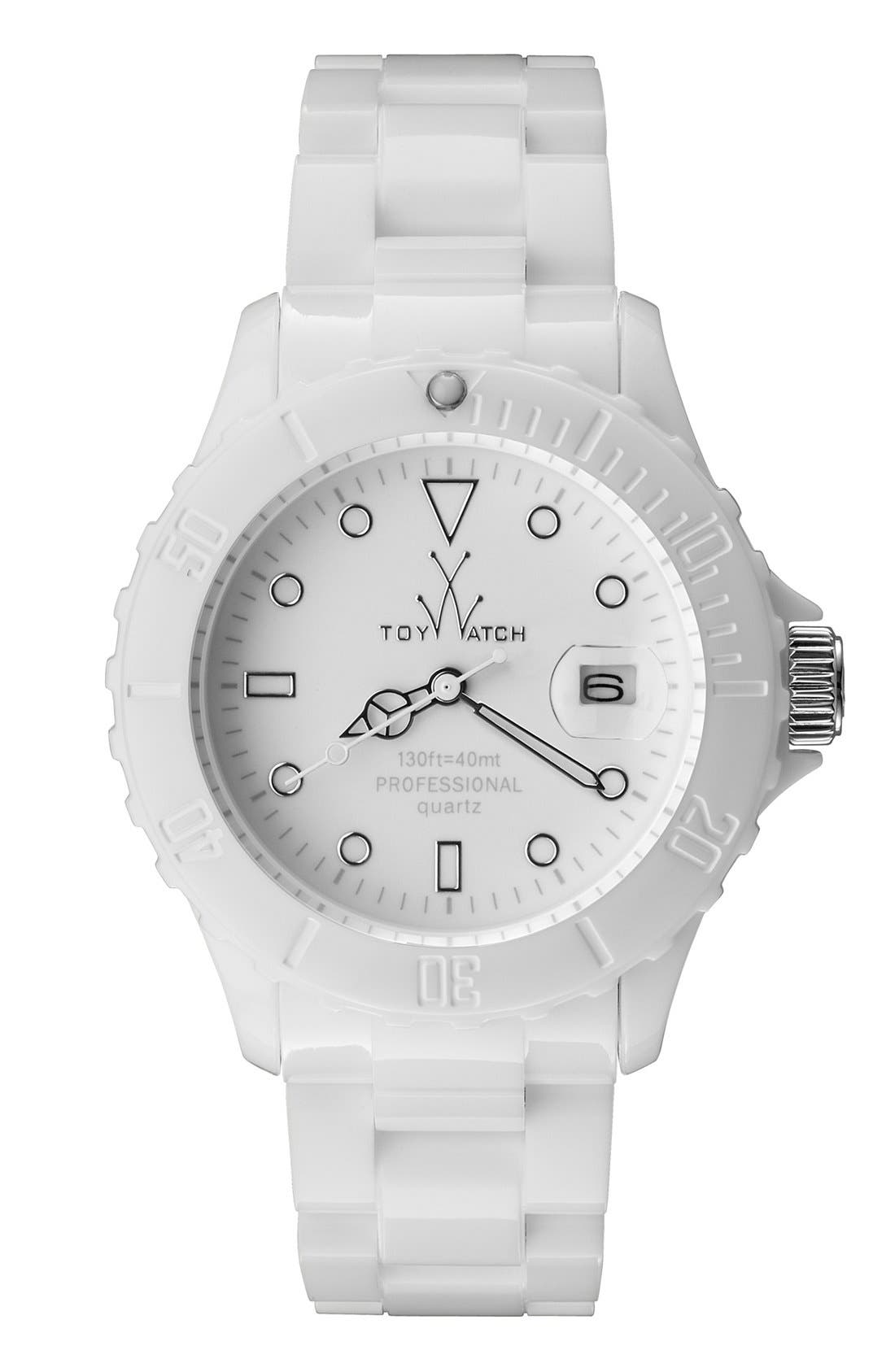 Alternate Image 1 Selected - TOYWATCH 'Monochrome' Bracelet Watch, 39mm