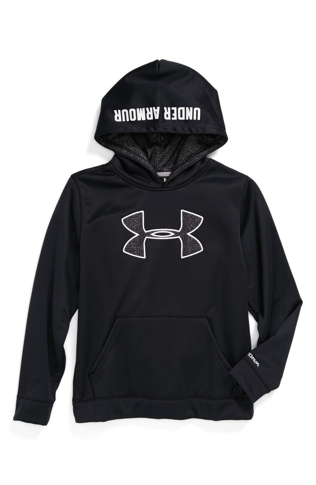 Alternate Image 1 Selected - Under Armour 'Storm Big Logo' Hoodie (Big Boys)