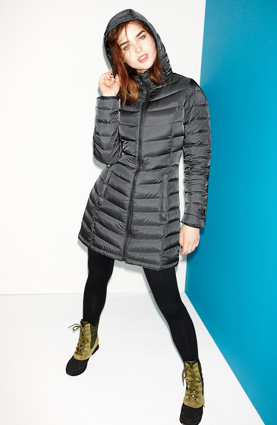 Alternate Image 3  - The North Face Jacket & Zella Leggings