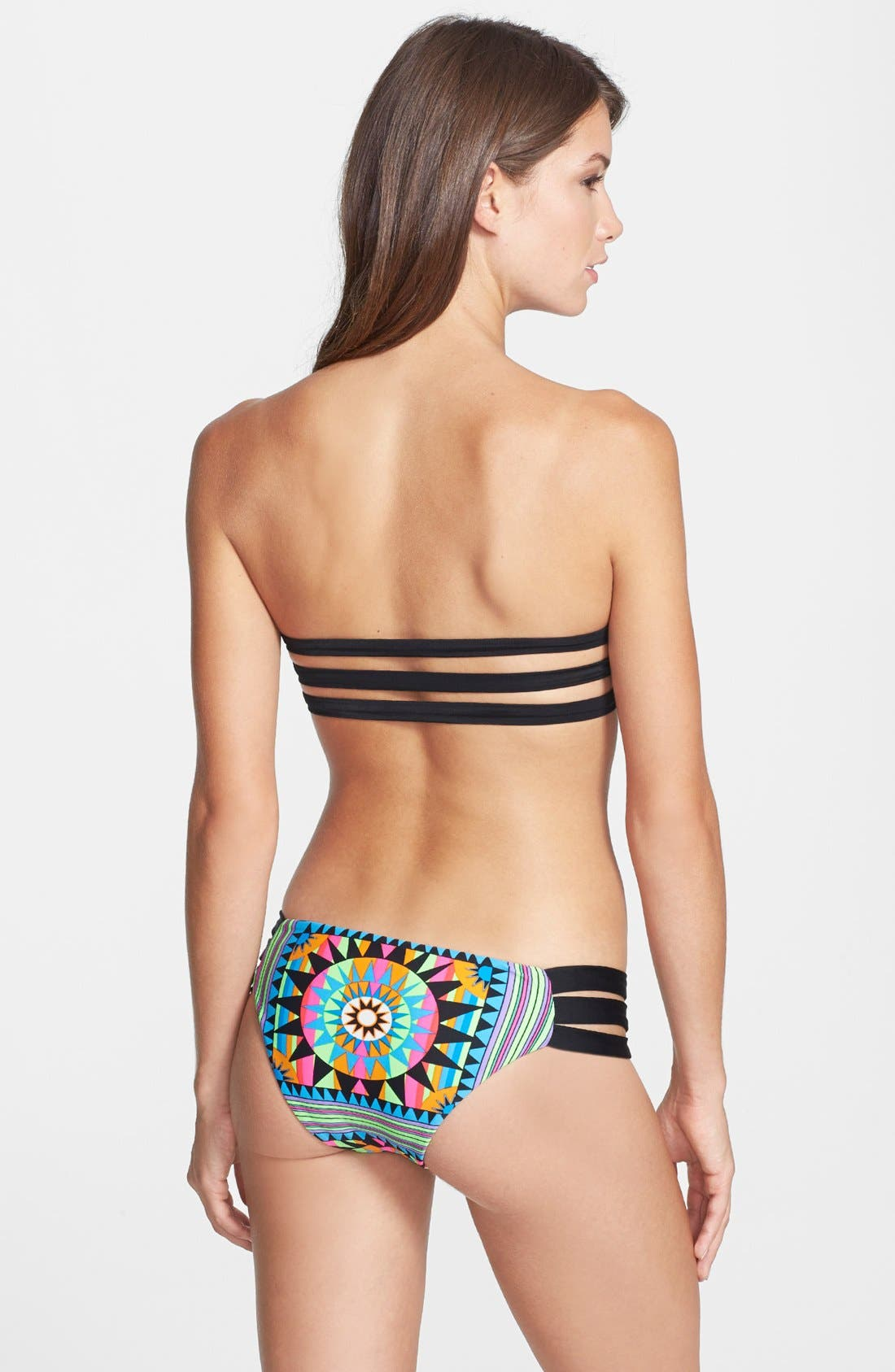 Alternate Image 4  - Mara Hoffman 'Shakti' Strappy Bandeau Bikini Top