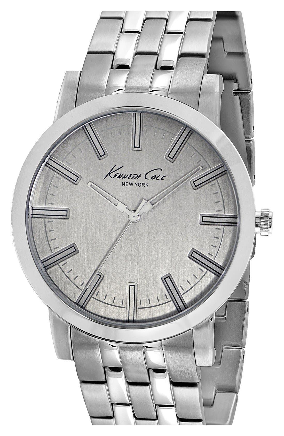Alternate Image 1 Selected - Kenneth Cole New York Slim Bracelet Watch, 42mm