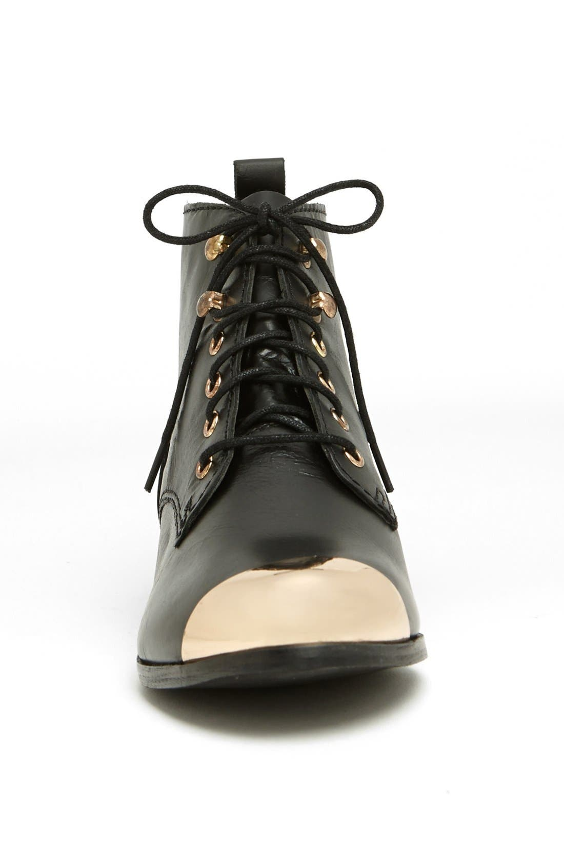 Alternate Image 3  - Topshop 'Mystify' Toe Cap Bootie