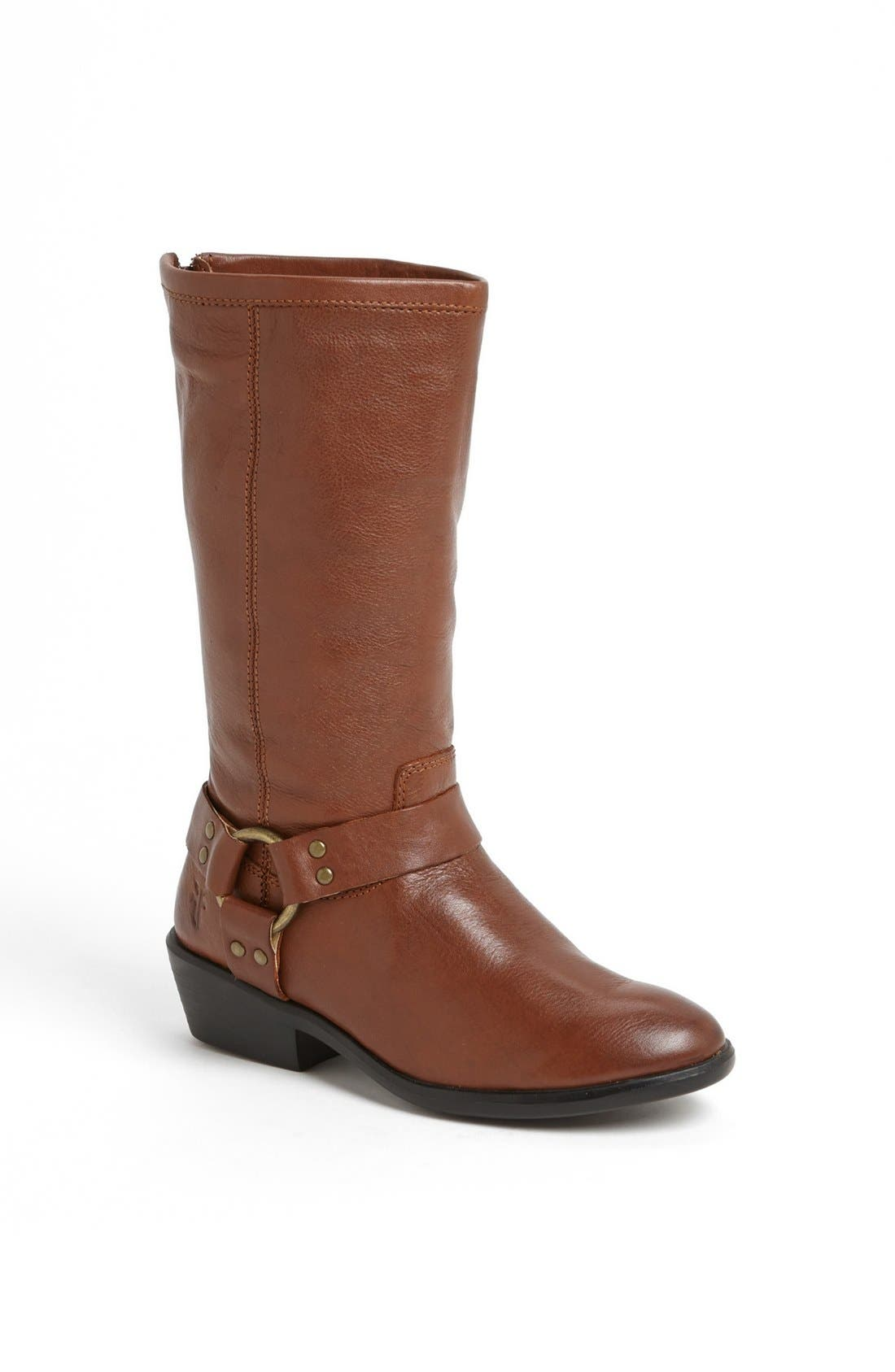 Main Image - Frye 'Phillip' Harness Tall Boot (Toddler, Little Kid & Big Kid)
