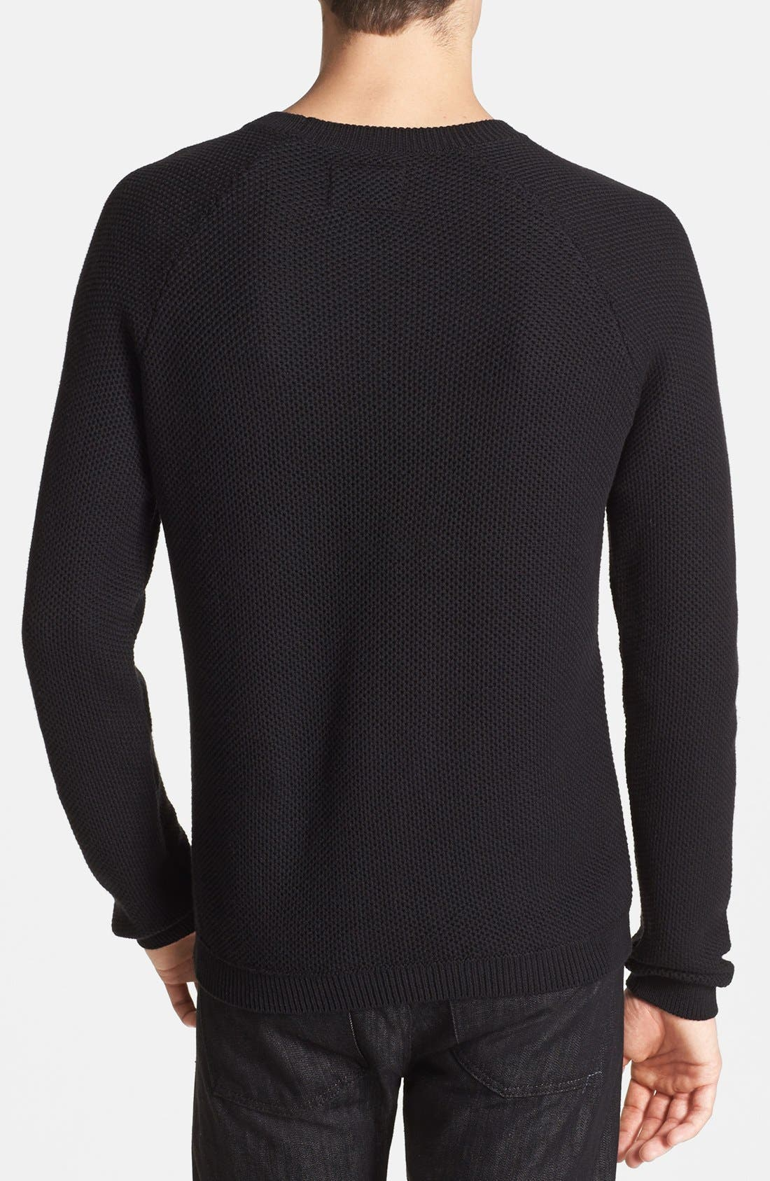 Alternate Image 2  - Topman Crewneck Sweater