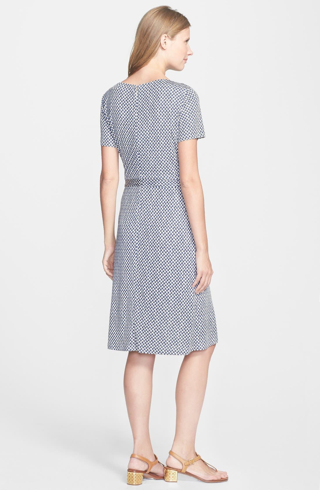 Alternate Image 2  - Tory Burch 'Edna' Silk A-Line Dress
