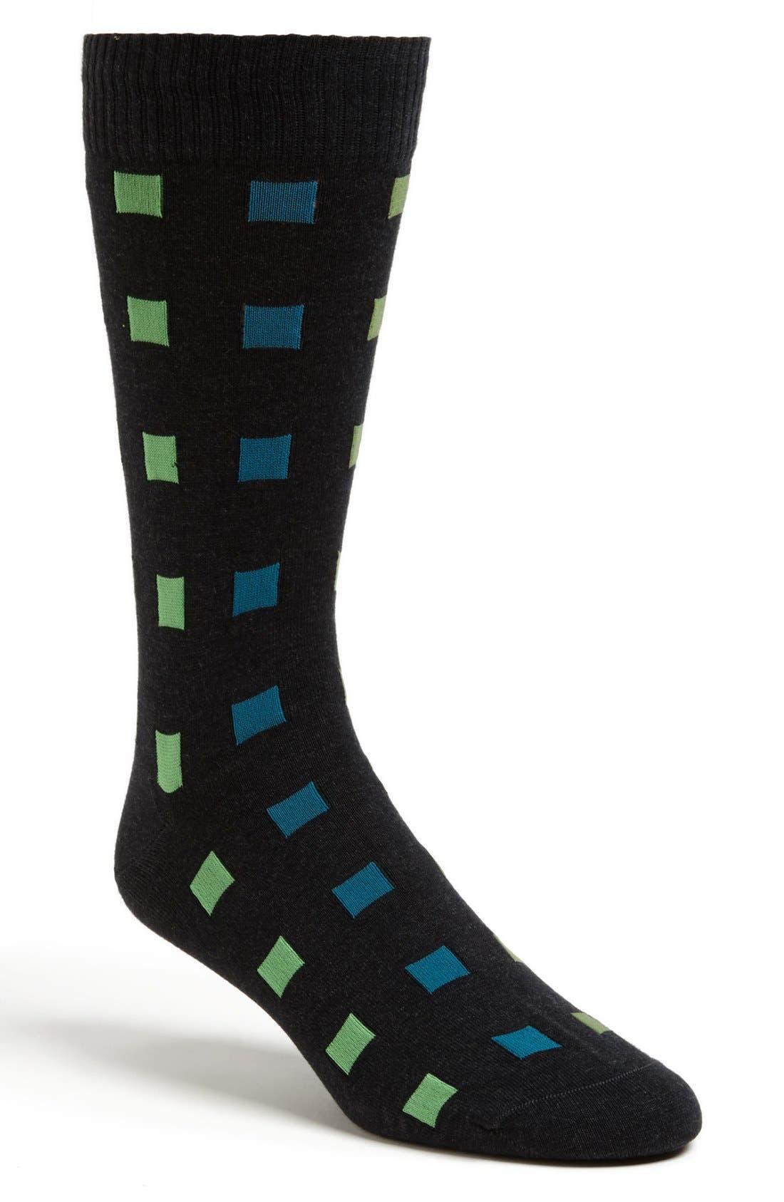 Alternate Image 1 Selected - Marcoliani 'Crazy Squares' Socks