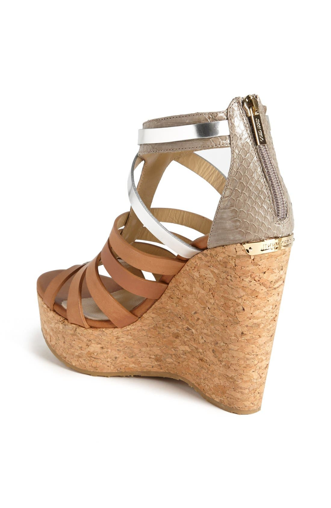 Alternate Image 2  - Jimmy Choo 'Pierce' Wedge Sandal