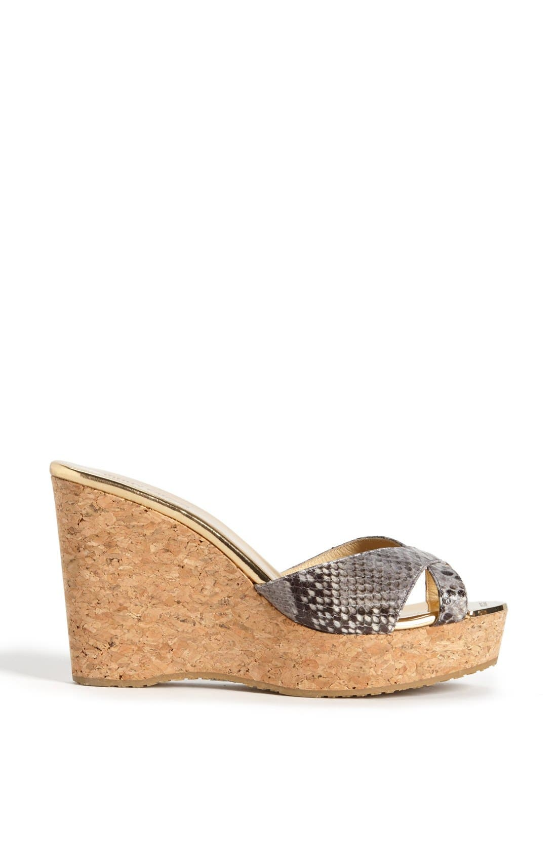Alternate Image 4  - Jimmy Choo 'Pandora' Wedge Sandal