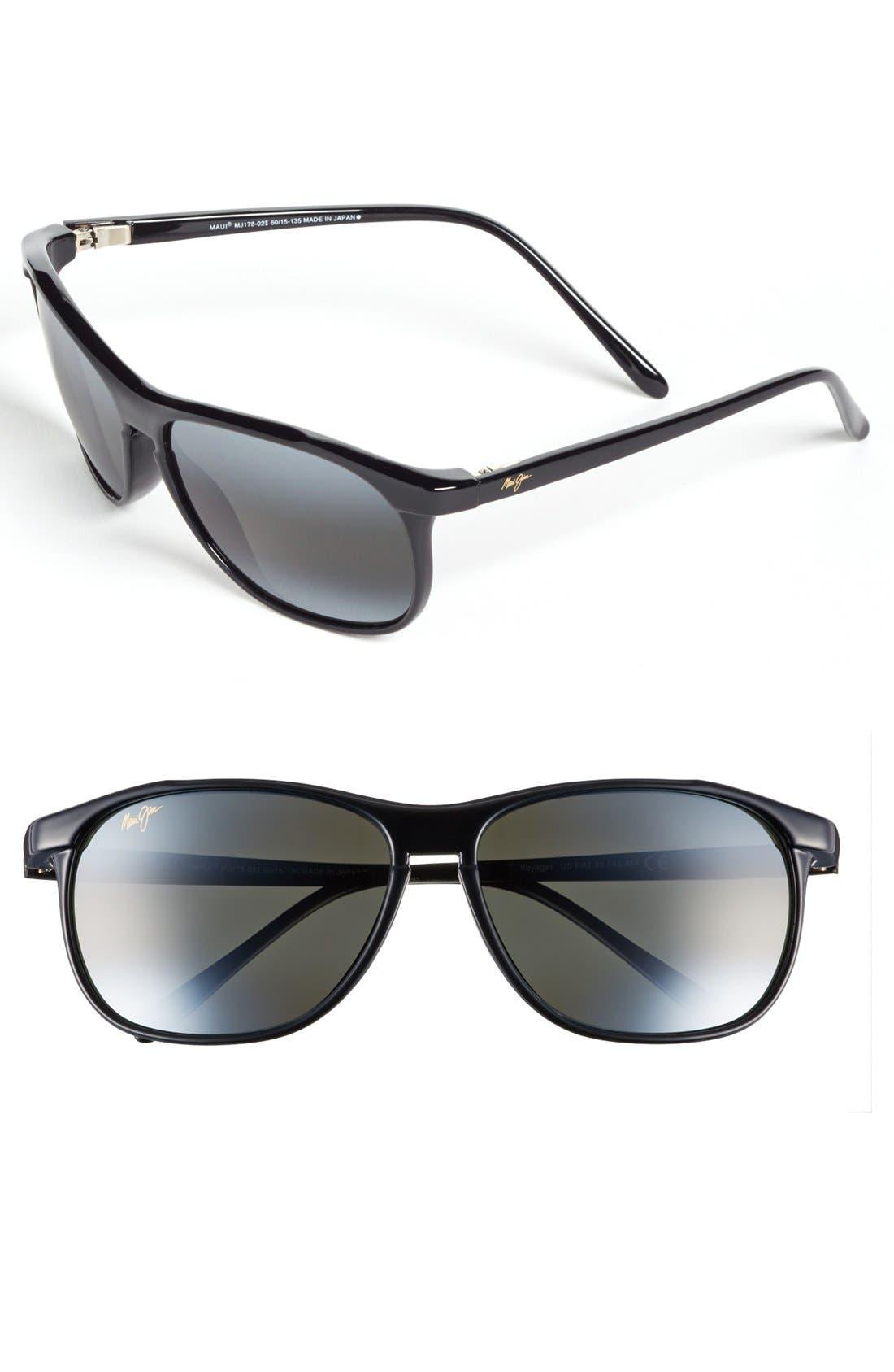 Maui Jim 'Voyager - PolarizedPlus®2' 60mm Sunglasses