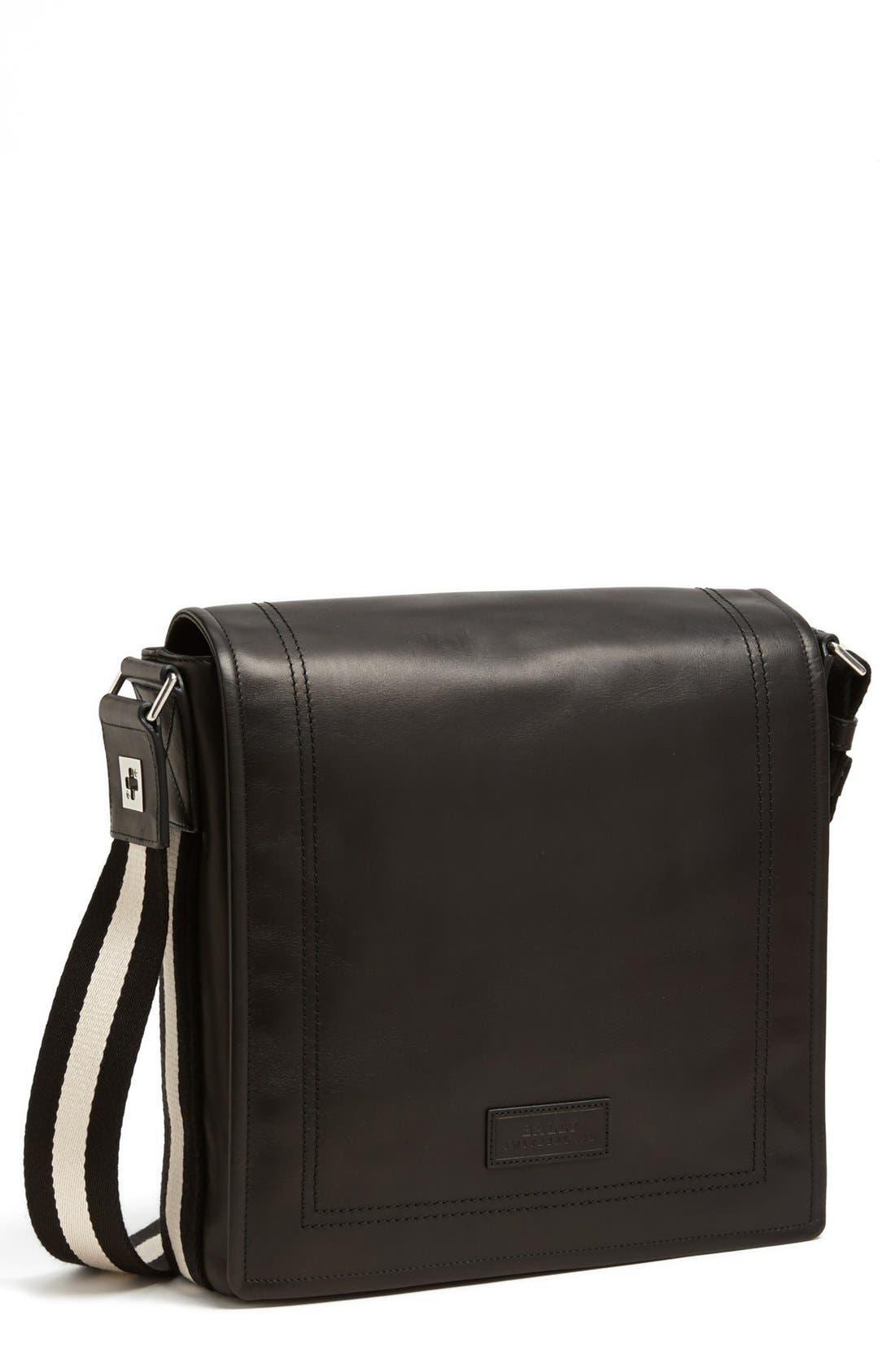 Alternate Image 1 Selected - Bally 'Small Triar Plain' Calfskin Messenger Bag