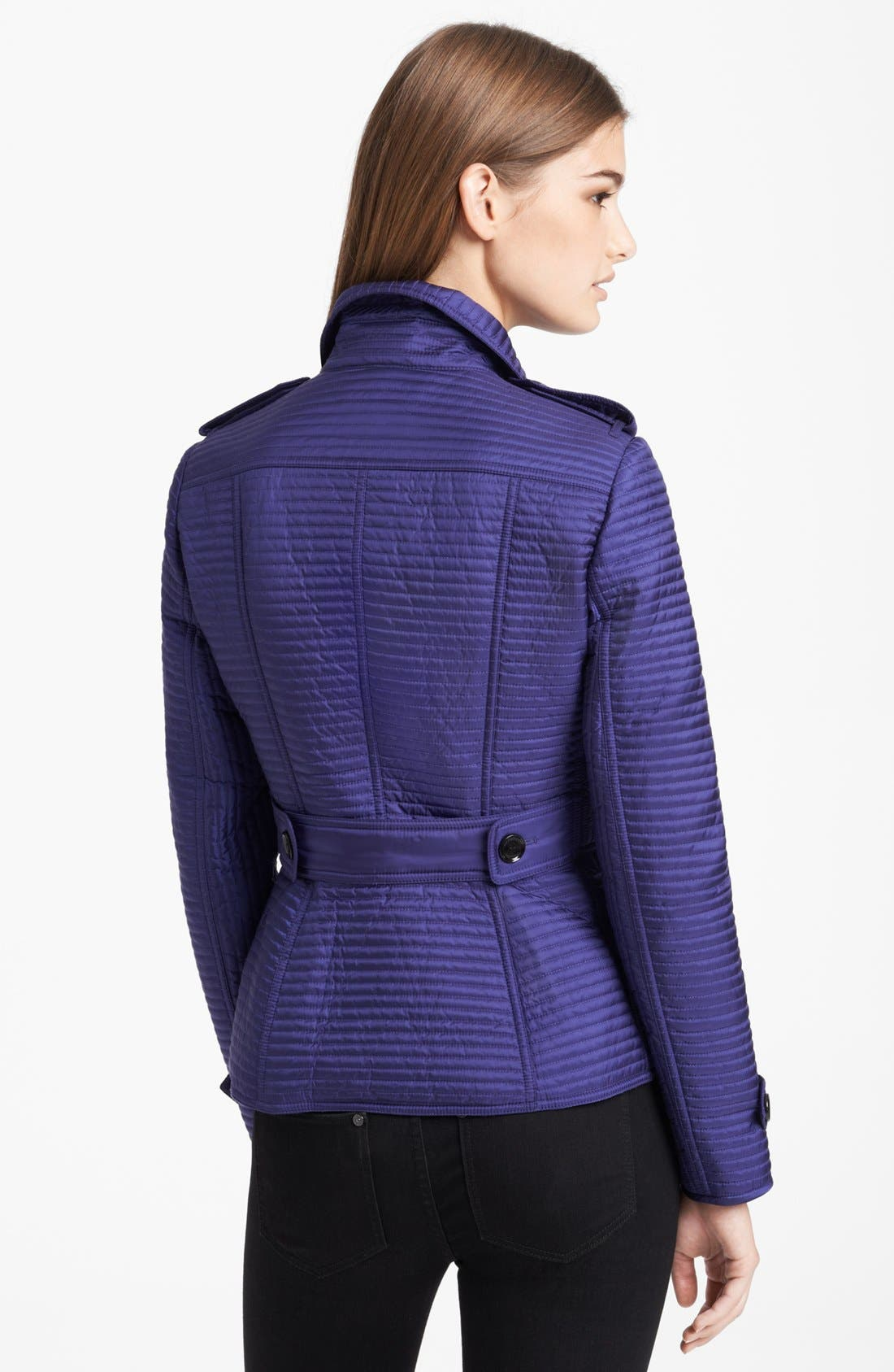 Alternate Image 2  - Burberry London Quilted Puffer Jacket