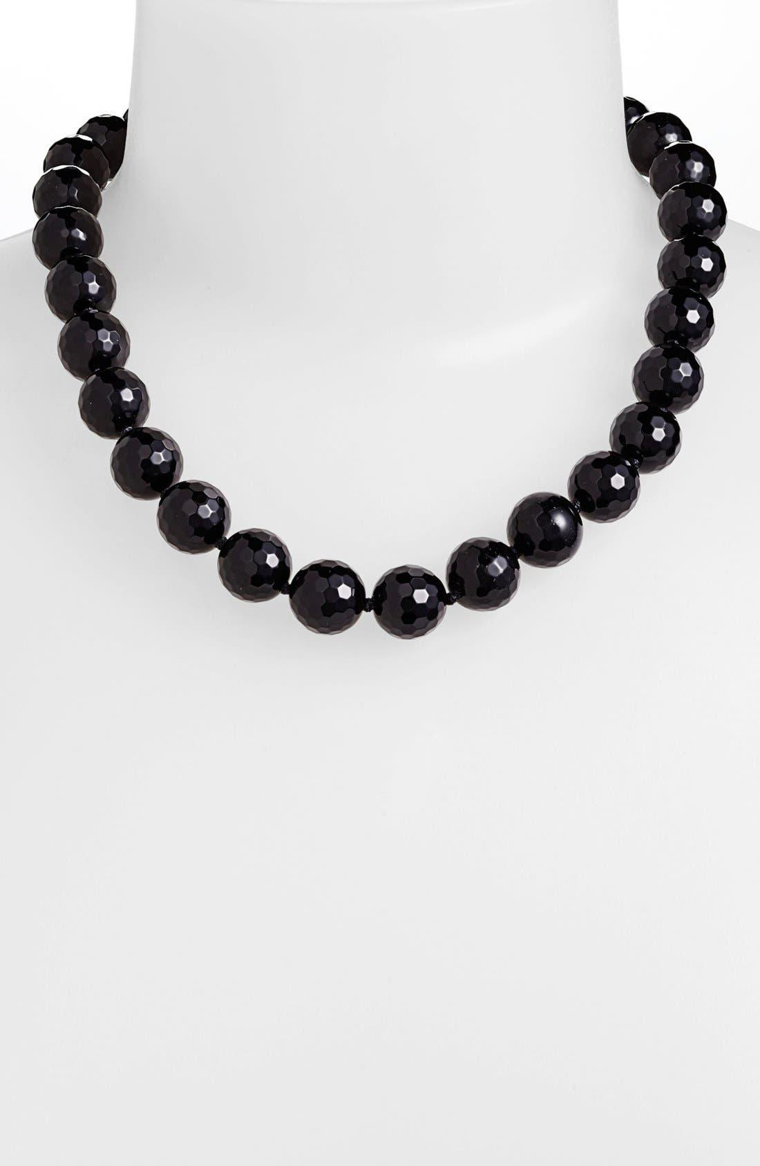 Alternate Image 1 Selected - Simon Sebbag Stone Beaded Necklace