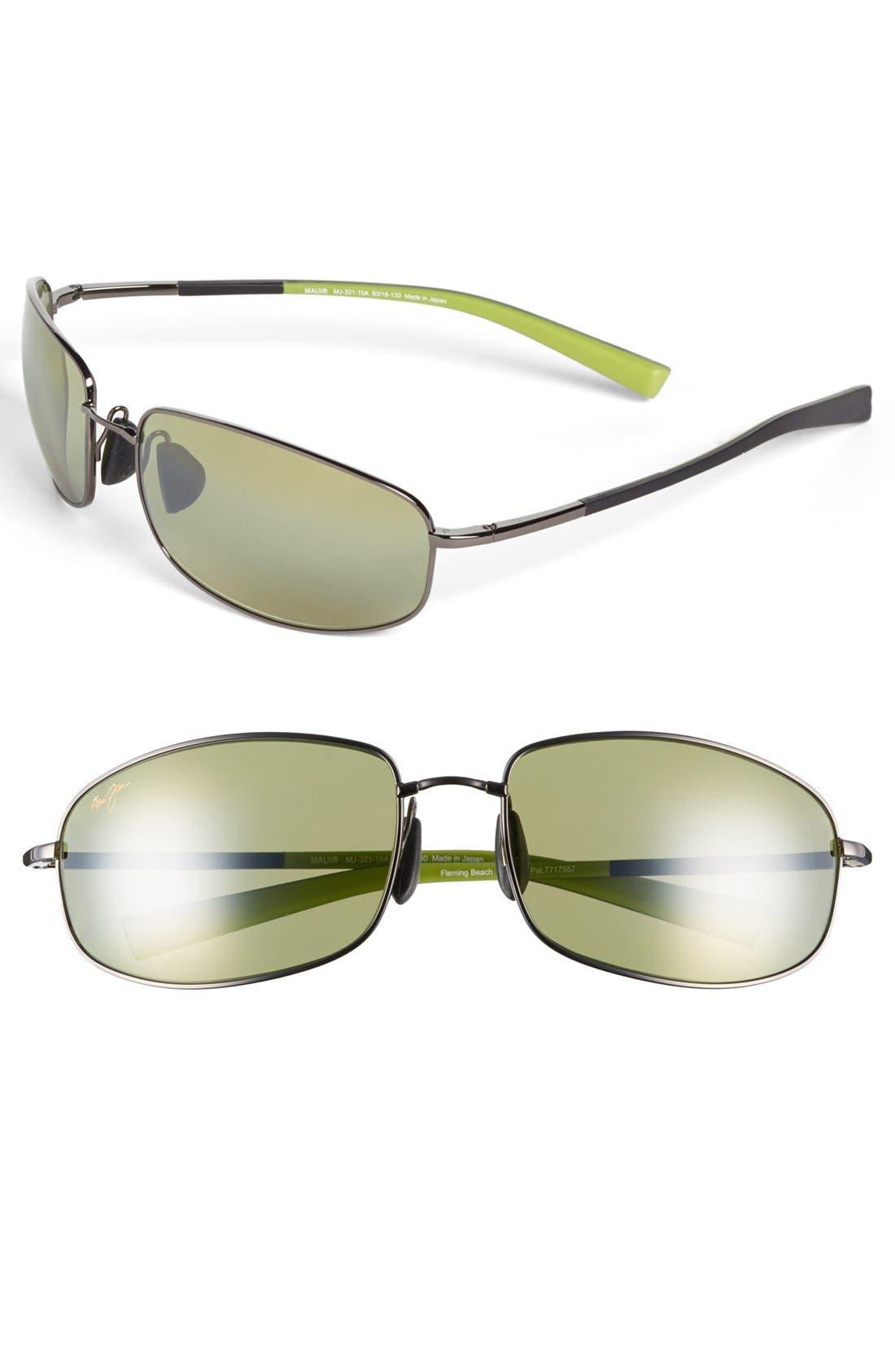Alternate Image 1 Selected - Maui Jim 'MauiFlex - Fleming Beach' PolarizedPlus® 63mm Sunglasses