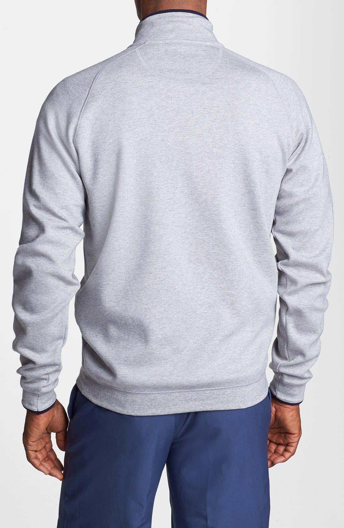 Alternate Image 2  - Bobby Jones 'Competition' Half Zip Pullover