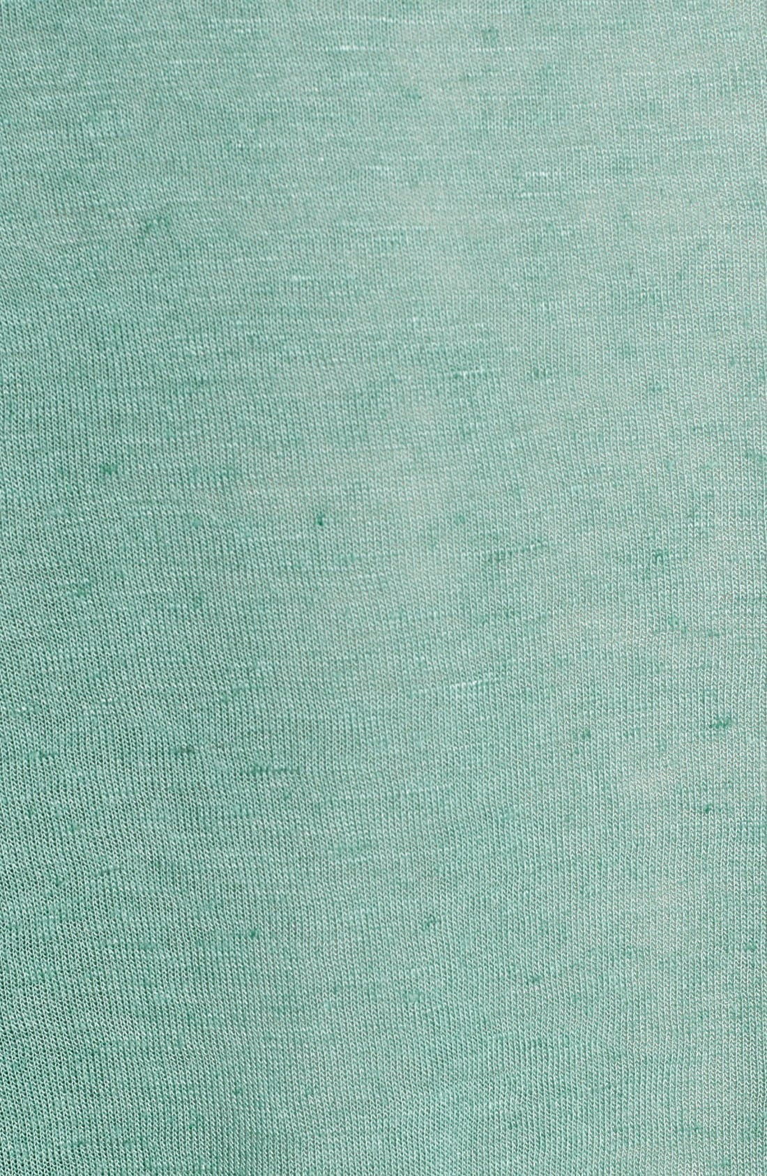 Alternate Image 3  - Lush Crochet Detail Tee (Juniors)