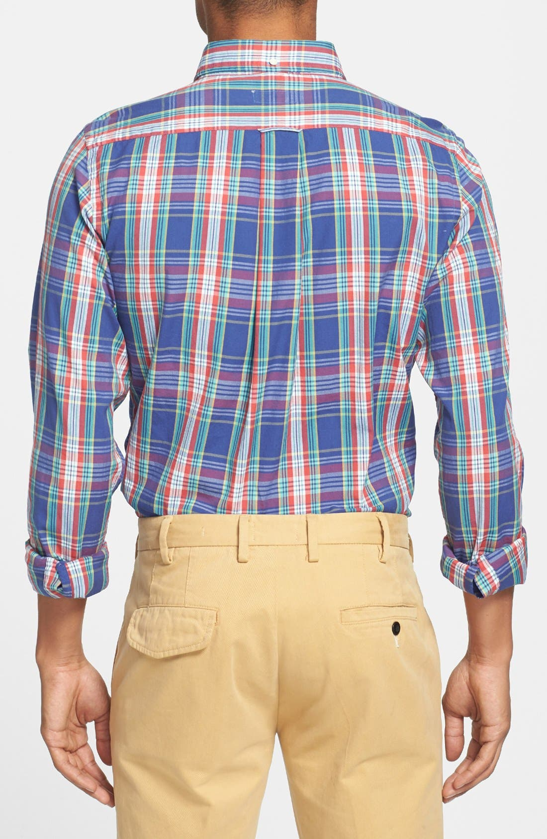 Alternate Image 2  - Gant Rugger 'Dreamy' Plaid Oxford Shirt