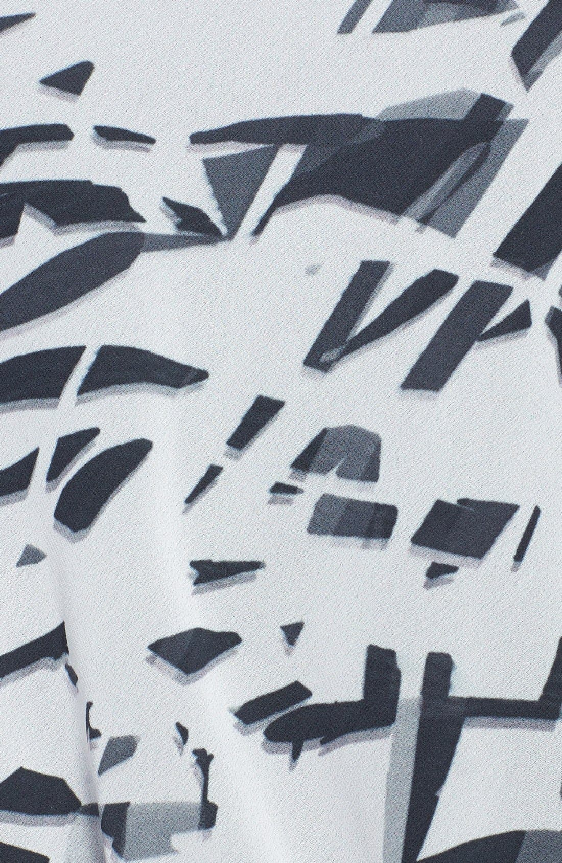 Alternate Image 3  - Komarov Mixed Media Print Top with Tank