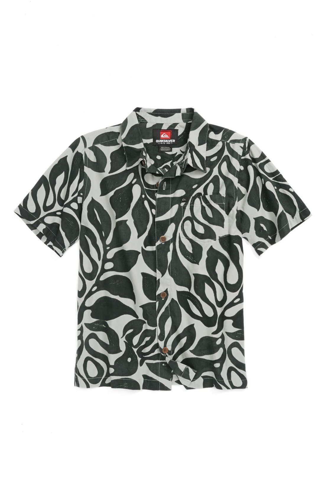 Alternate Image 1 Selected - Quiksilver 'Hilo' Shirt (Little Boys)
