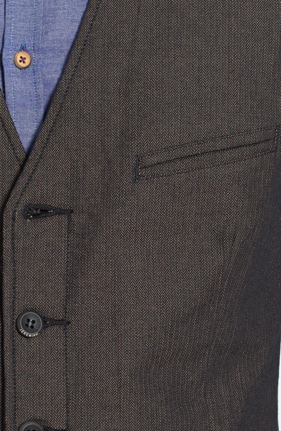 Alternate Image 3  - Jeremiah 'Mumford' Herringbone Vest