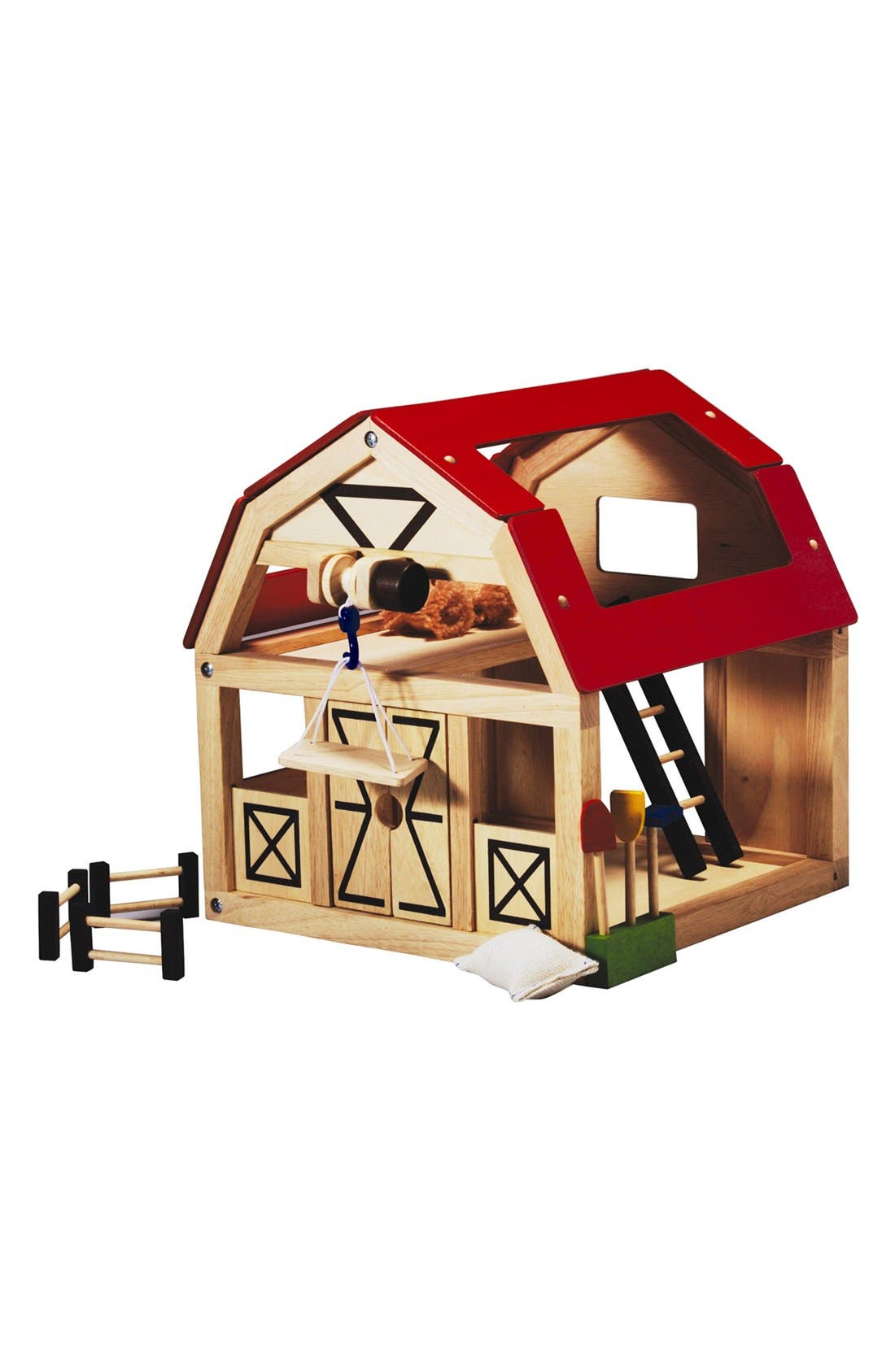 Alternate Image 1 Selected - PlanToys® Wooden Barn Toy