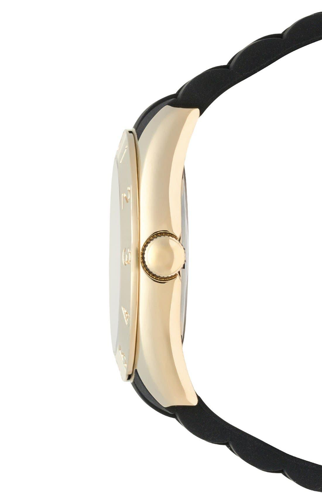 Alternate Image 2  - Tommy Hilfiger Round Silicone Strap Watch, 40mm