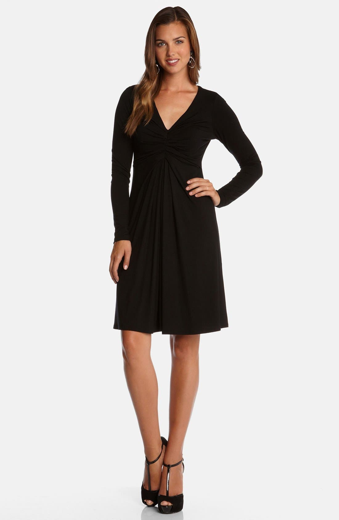 Alternate Image 3  - Karen Kane 'Elizabeth' Stretch Fit & Flare Dress