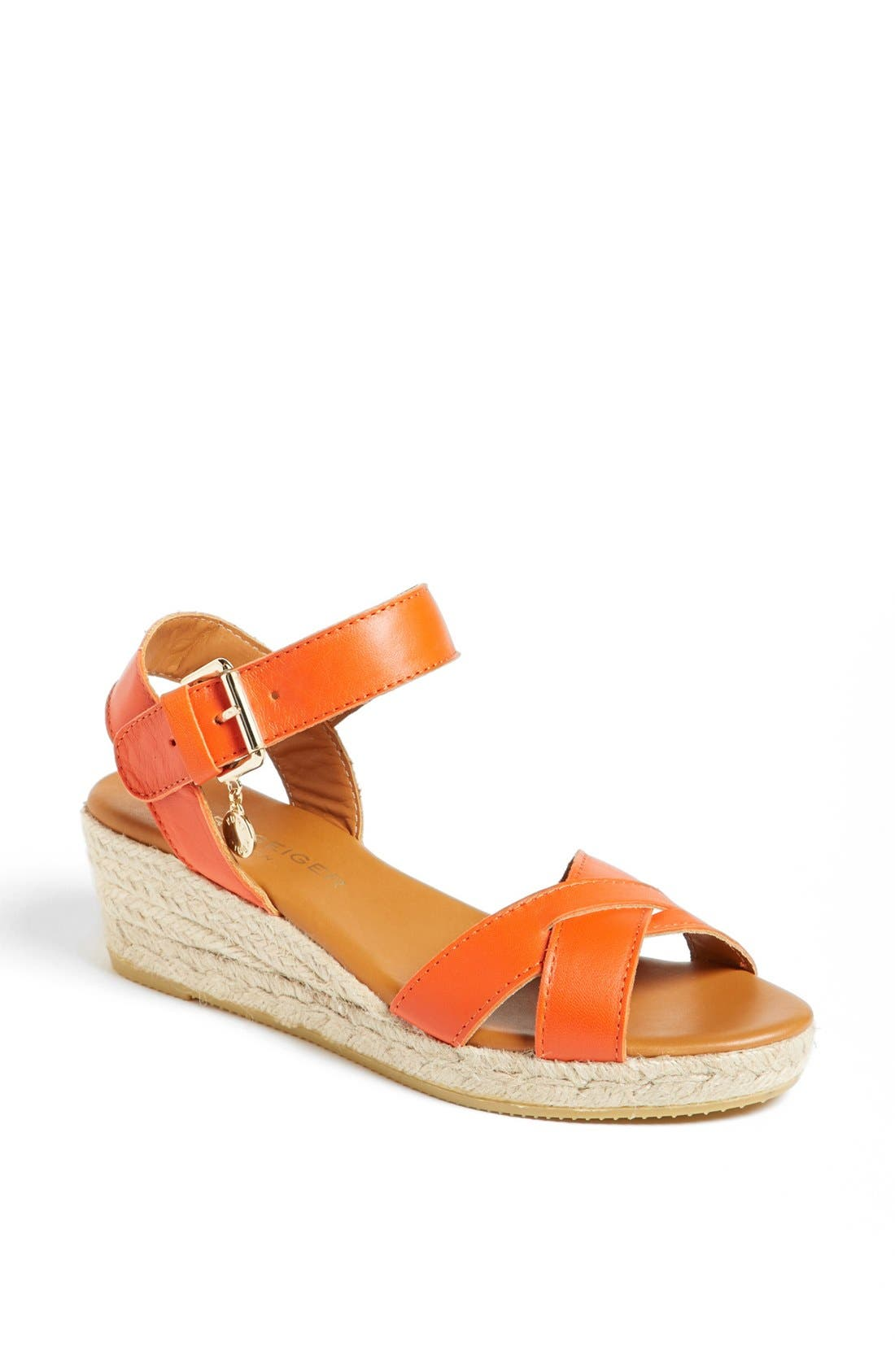 Alternate Image 1 Selected - Kurt Geiger London 'Libby' Leather Sandal