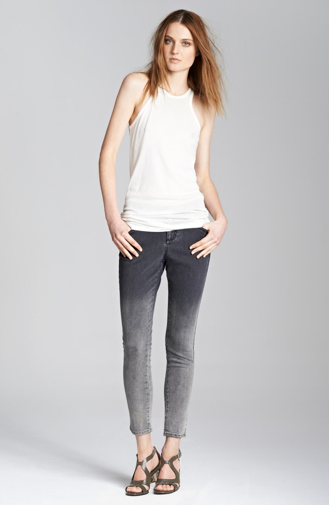 Alternate Image 4  - Stella McCartney 'Simone' Dégradé Skinny Ankle Grazer Jeans