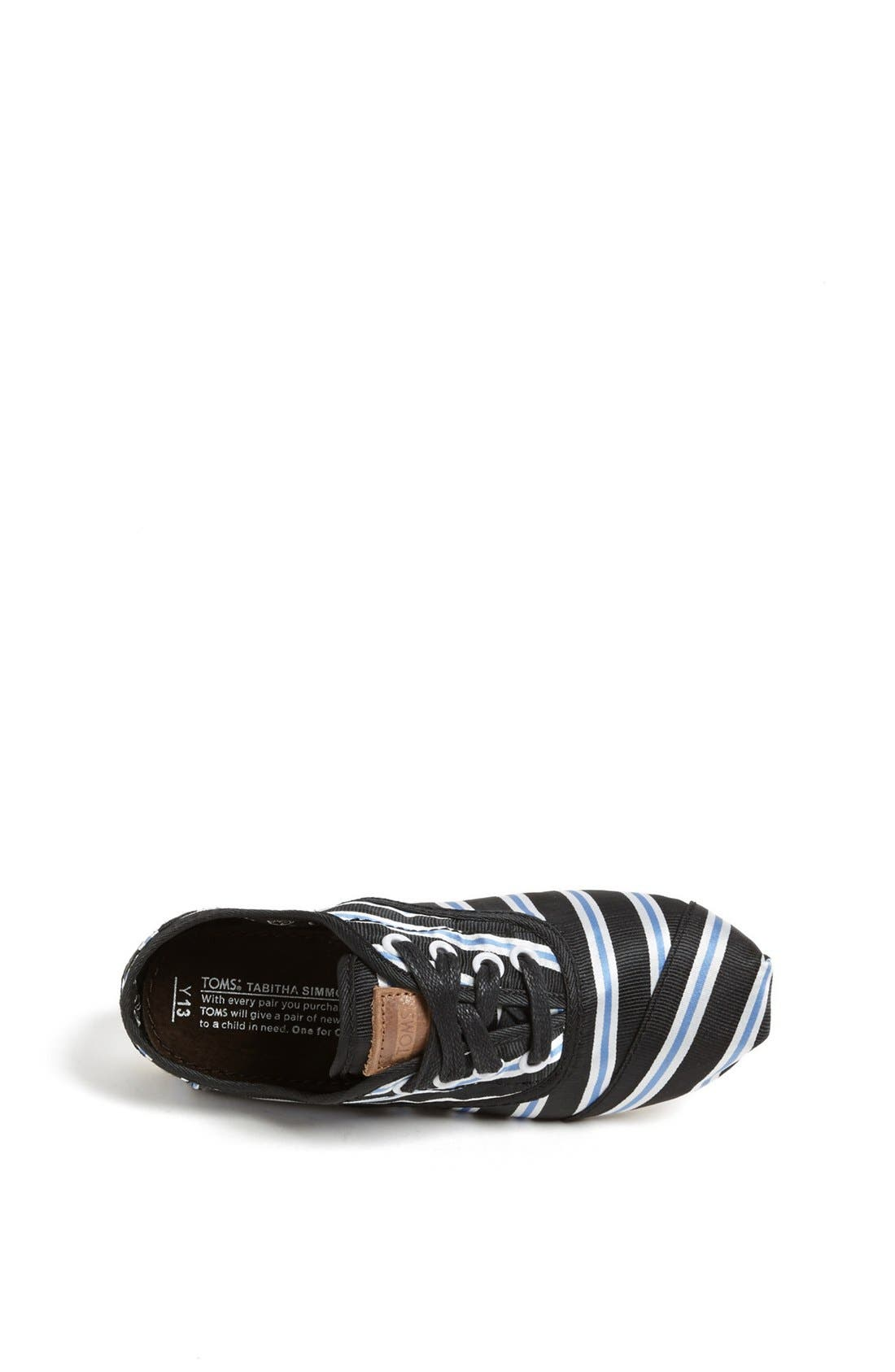 Alternate Image 3  - TOMS 'Cordones - Tabitha Simmons' Slip-On (Toddler, Little Kid & Big Kid) (Limited Edition)