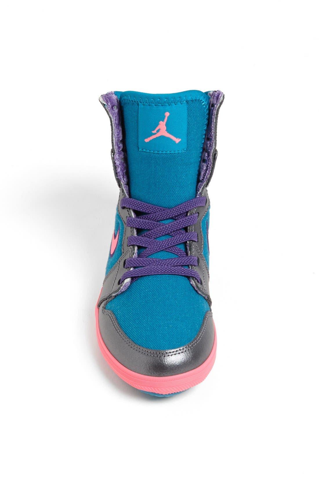 Alternate Image 3  - Nike 'Jordan 1 Skinny High' Sneaker (Toddler & Little Kid)