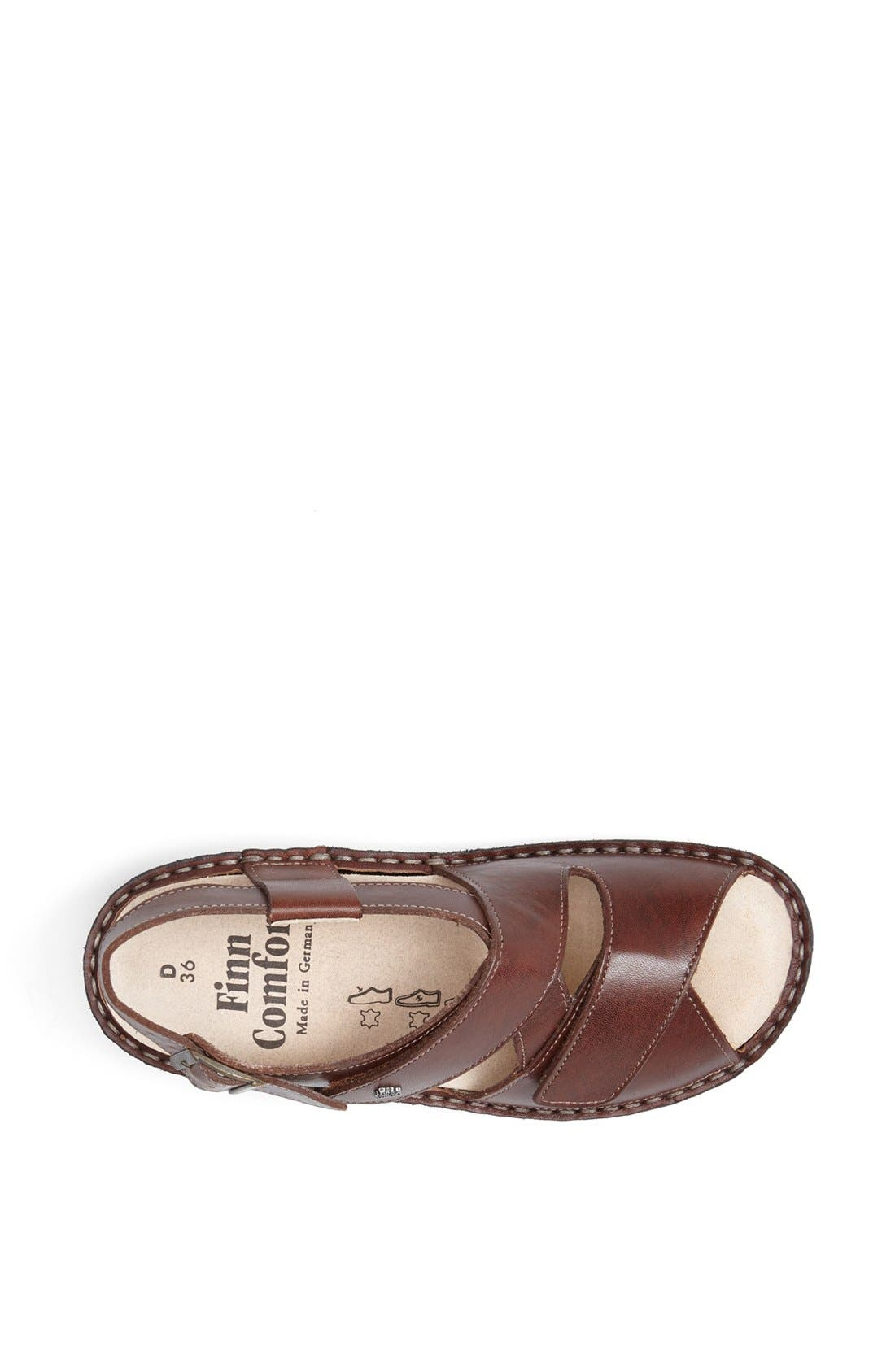 'Jersey' Sandal,                             Alternate thumbnail 3, color,                             Brandy Country