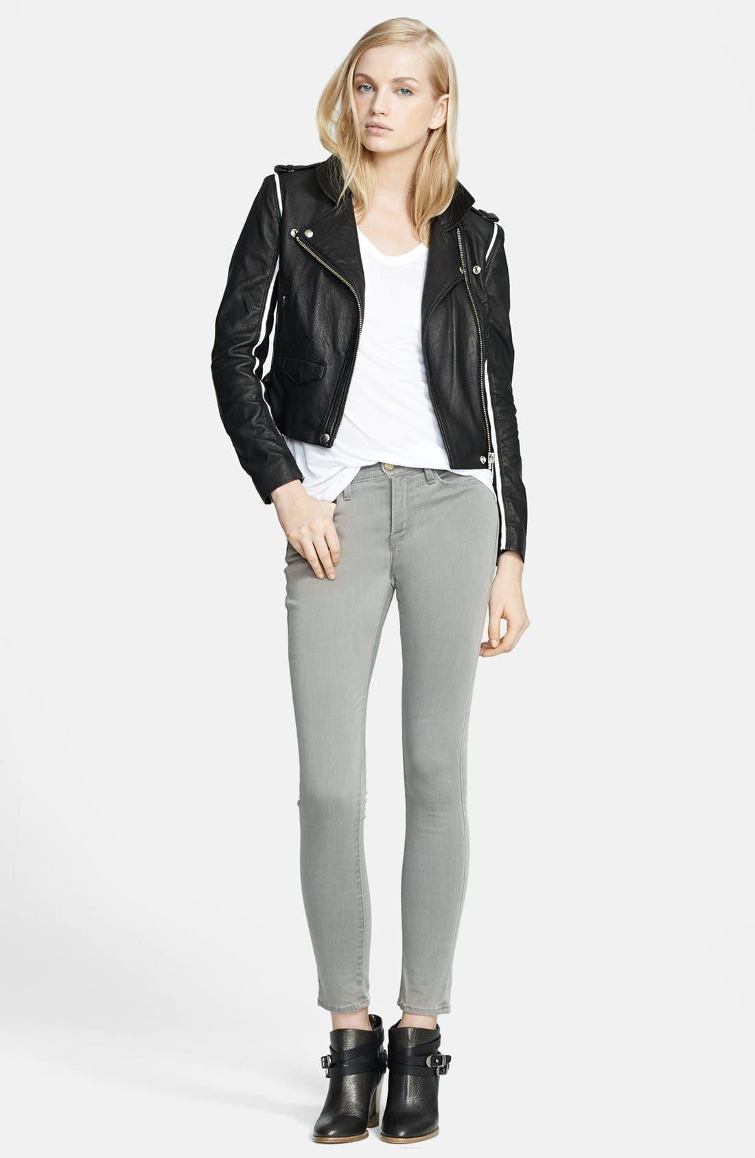 Alternate Image 3  - IRO 'Ashvie' Leather Moto Jacket