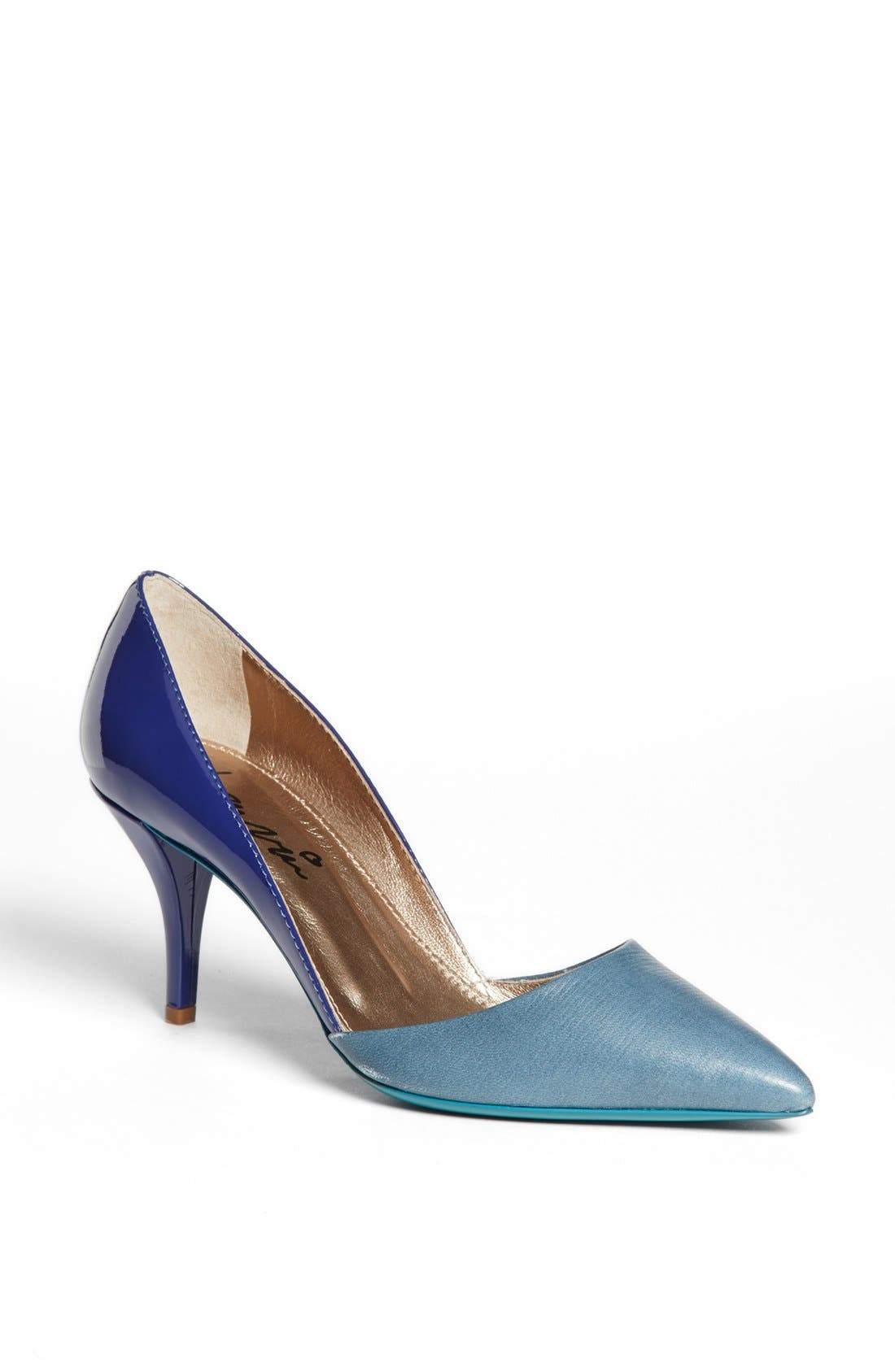 Alternate Image 1 Selected - Lanvin Bicolor Pointy Toe Pump