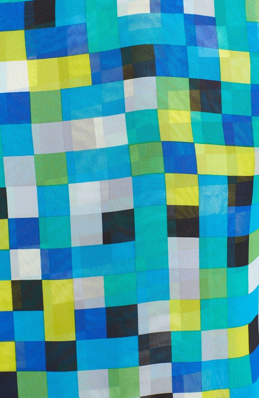 Alternate Image 3  - Vince Camuto Faux Wrap Print Blouse (Petite)