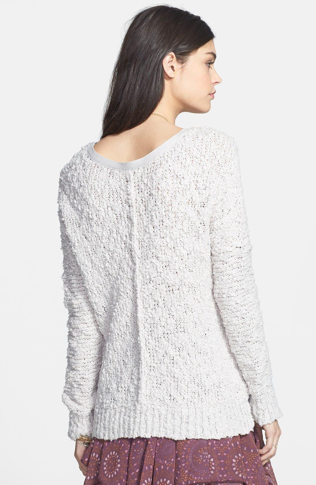Alternate Image 2  - Free People 'Songbird' Sheer Sweater