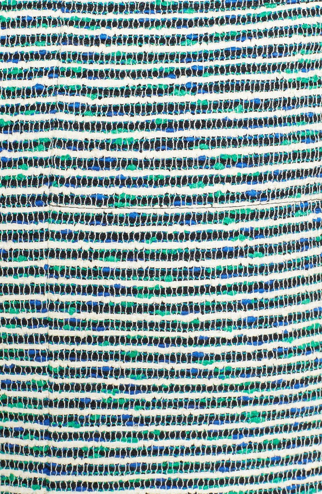 Alternate Image 3  - Lafayette 148 New York 'Revelin' Stripe Tweed Pencil Skirt