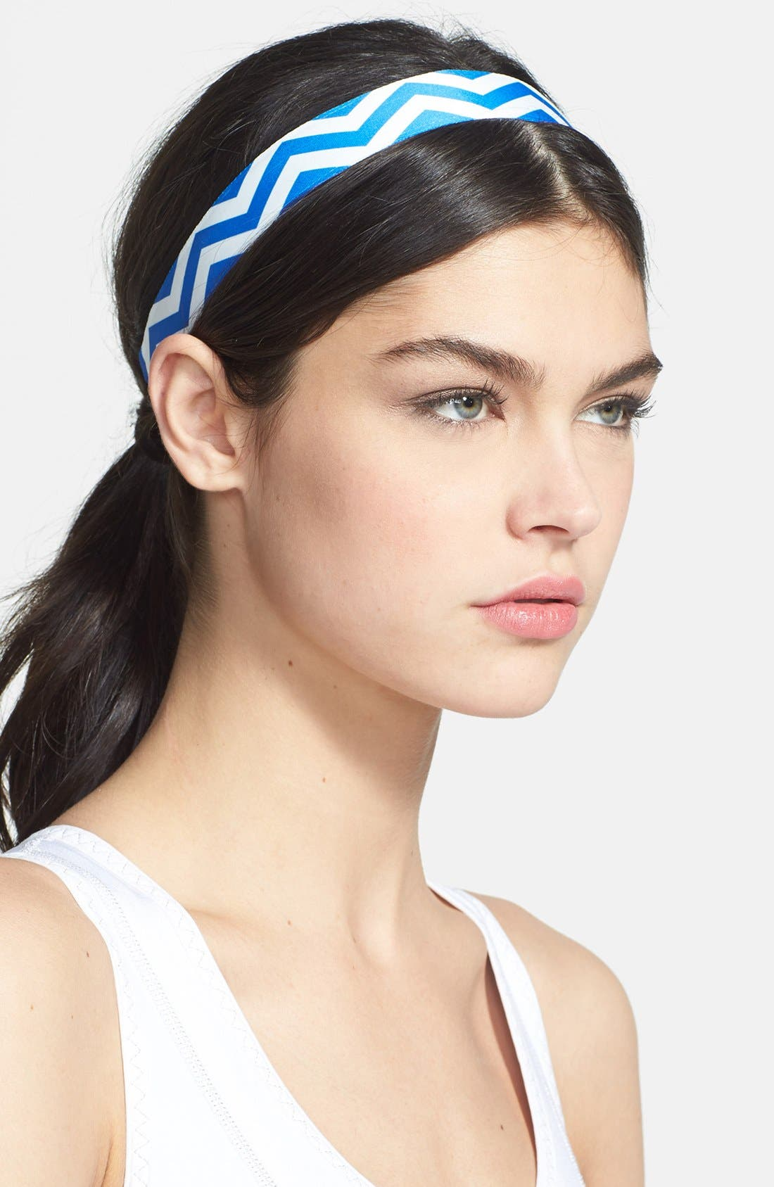 Alternate Image 1 Selected - Sweaty Bands 'Chevron Slide' Head Wrap